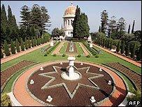 Bahai temple in Iran