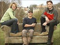 Kate Humble, Simon king and Chris Packham
