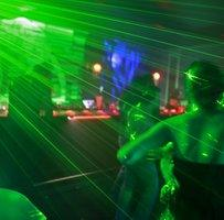 Young people in a night club