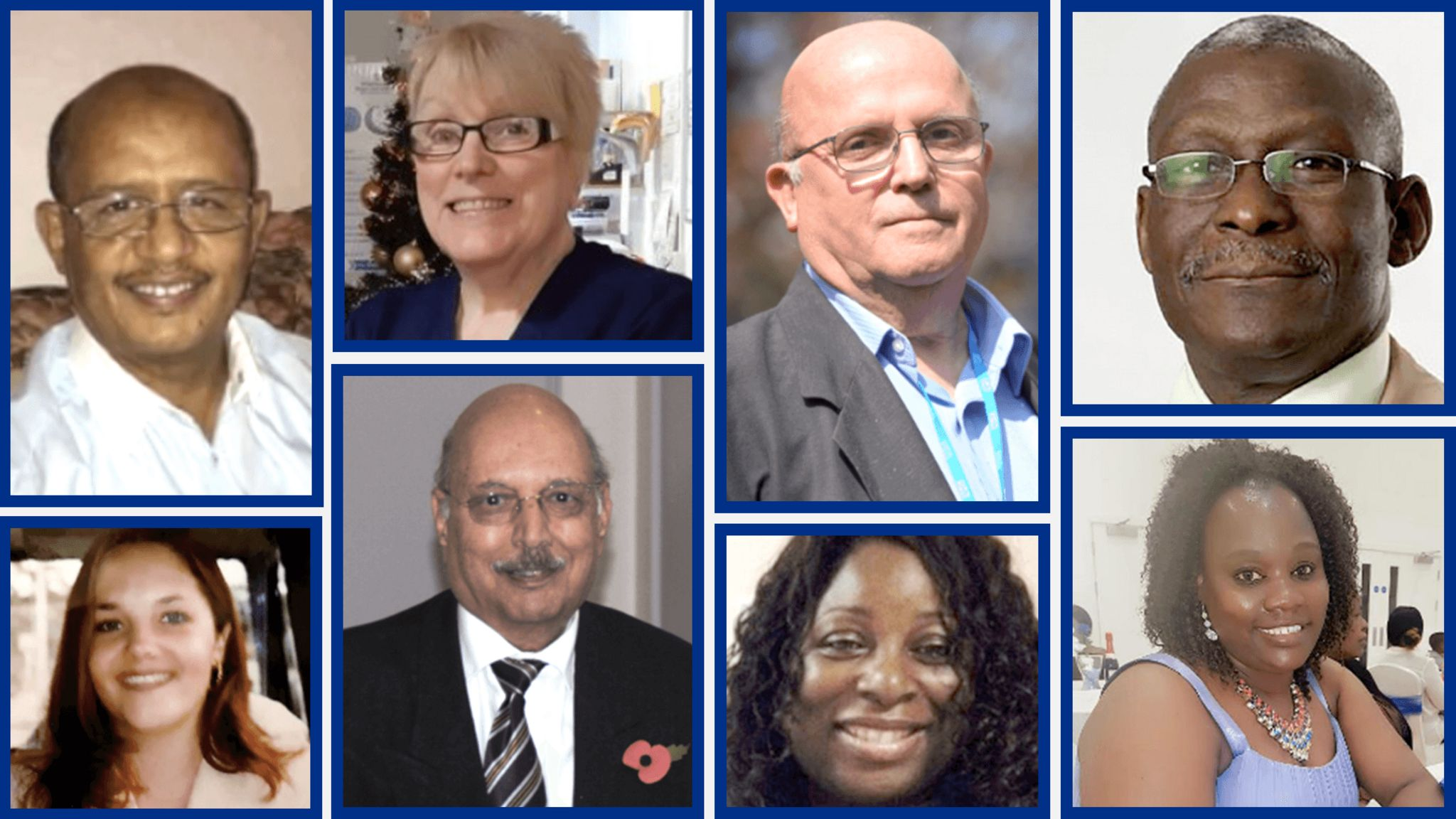 Photos of some of the NHS workers who have died from Coronavirus - 28 April