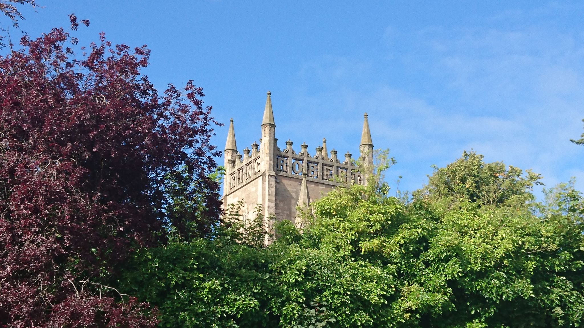 Dunfermline Abbey tower