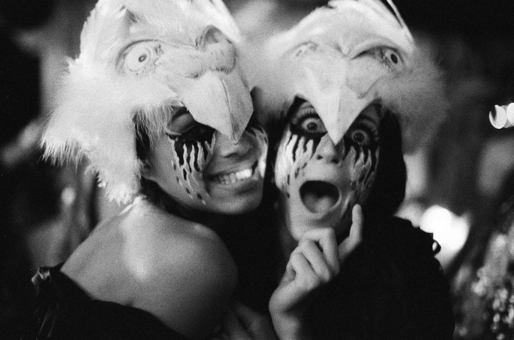 Women in masks