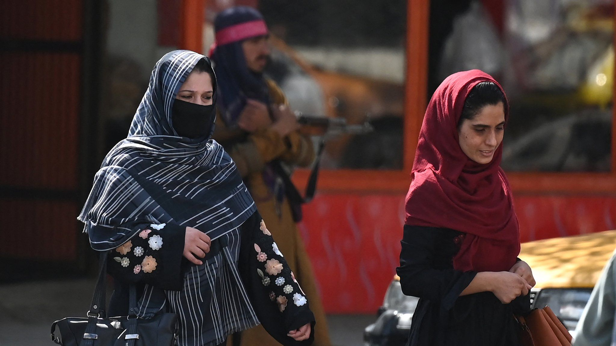 Life under the Taliban: Where is your male escort? thumbnail