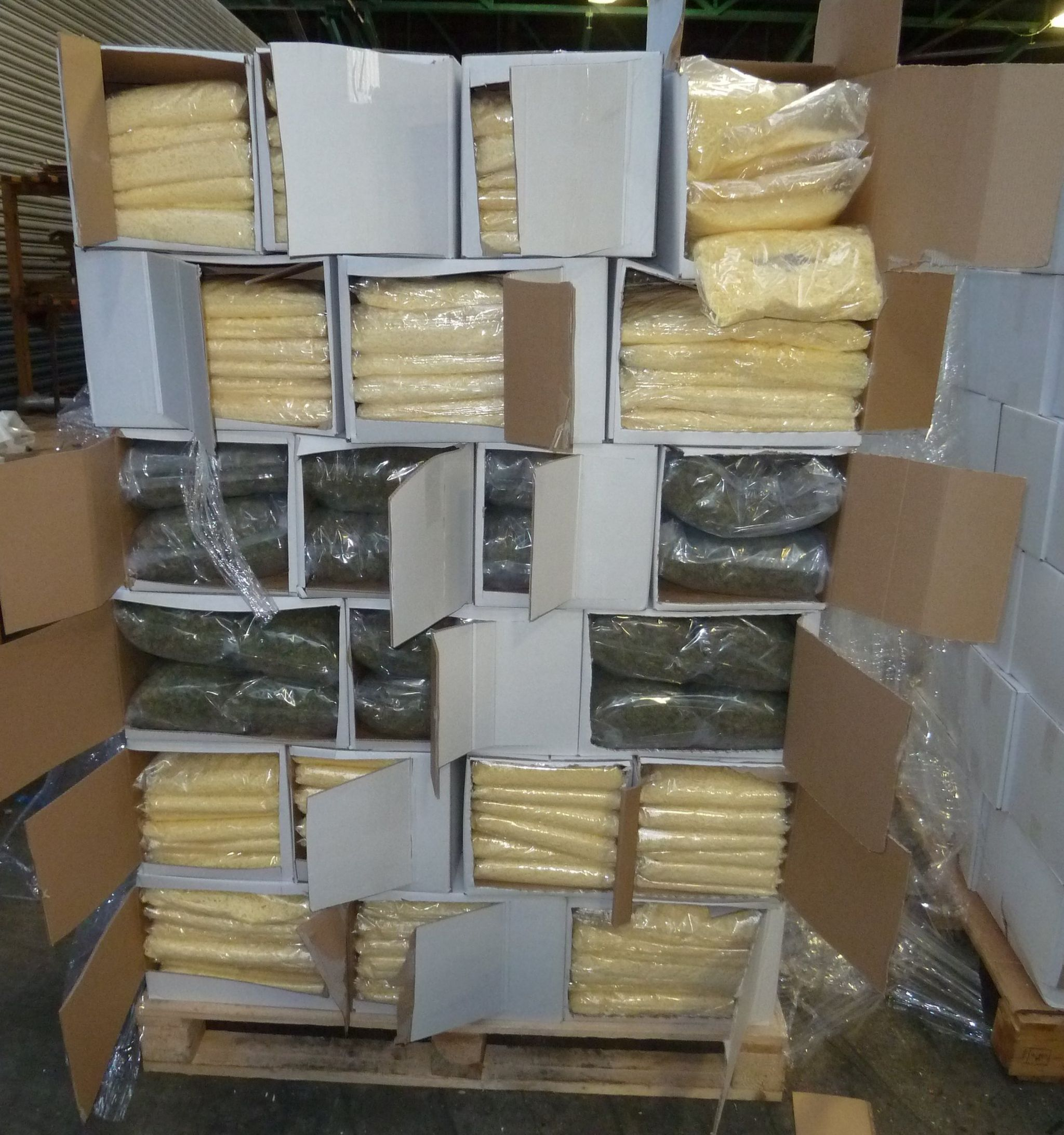 Drugs hidden in cheese discovered by the NCA in Dover