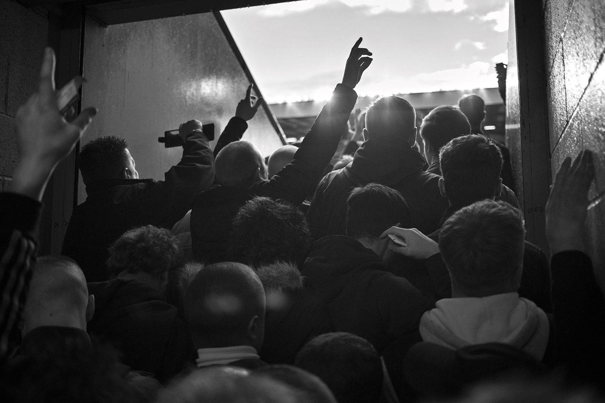 Tottenham fans 2014