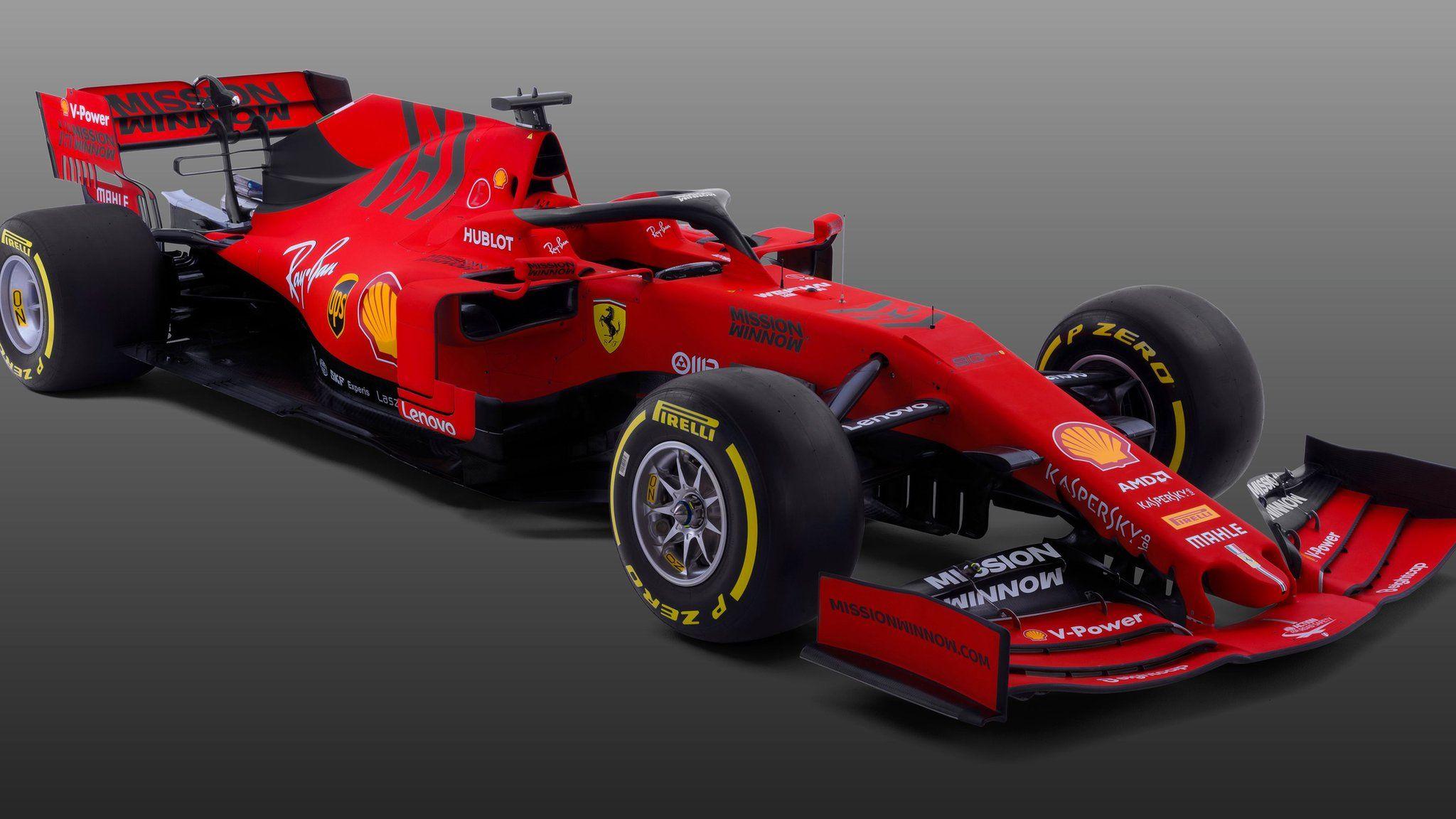 Formula 1 2019 New Car Gallery Bbc Sport