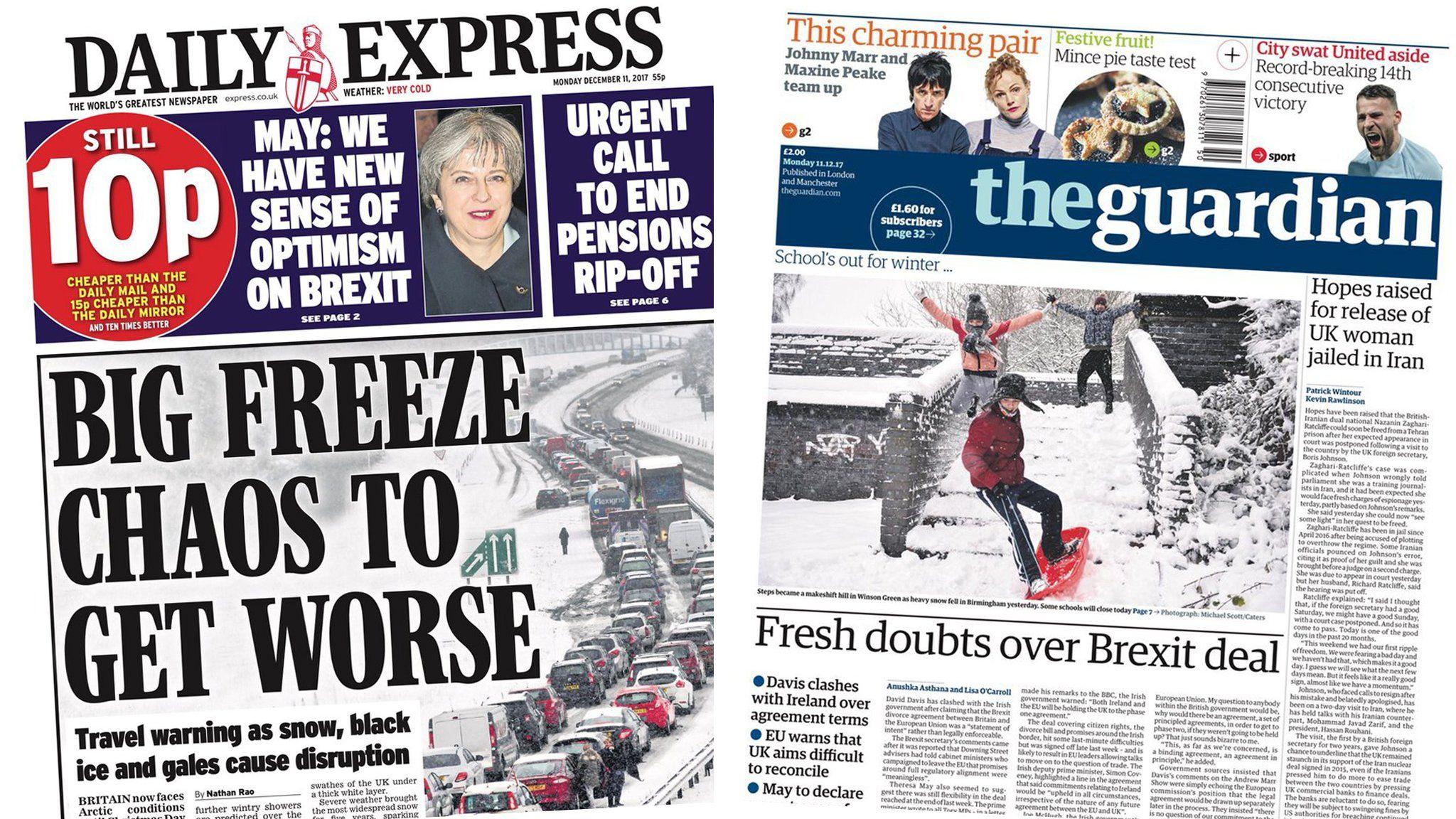 Express and Guardian