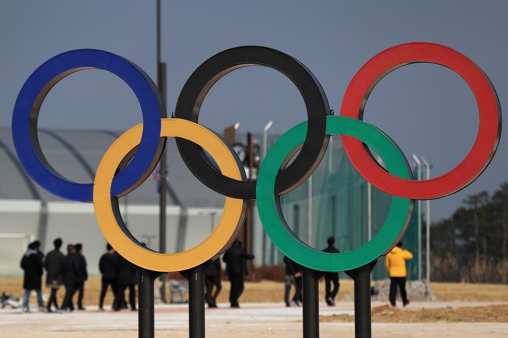 Street scene near the Gangneun Coastal Cluster, host of the Pyeongchang 2018 Winter Games