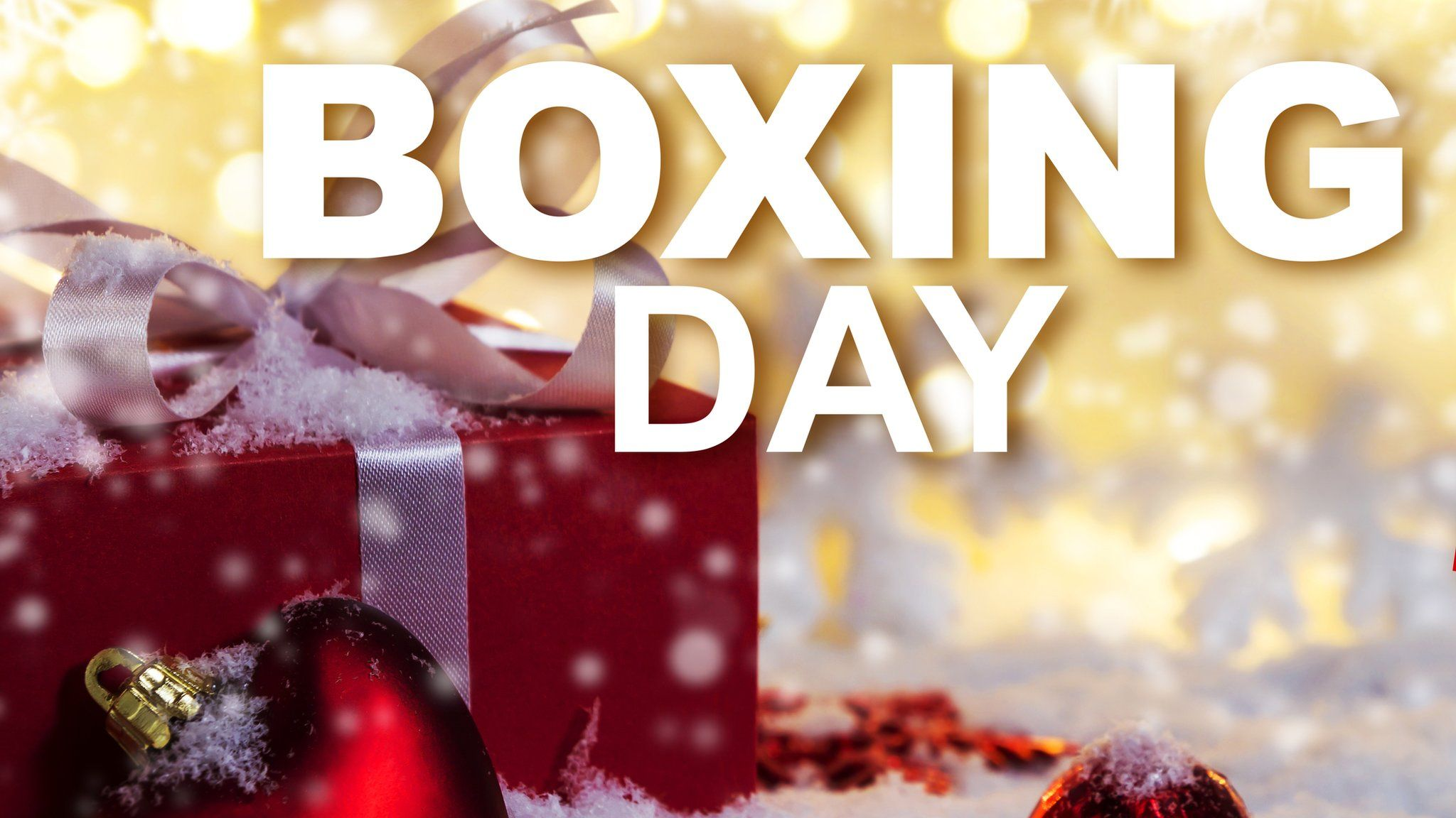 Why is it called Boxing Day? CBBC Newsround