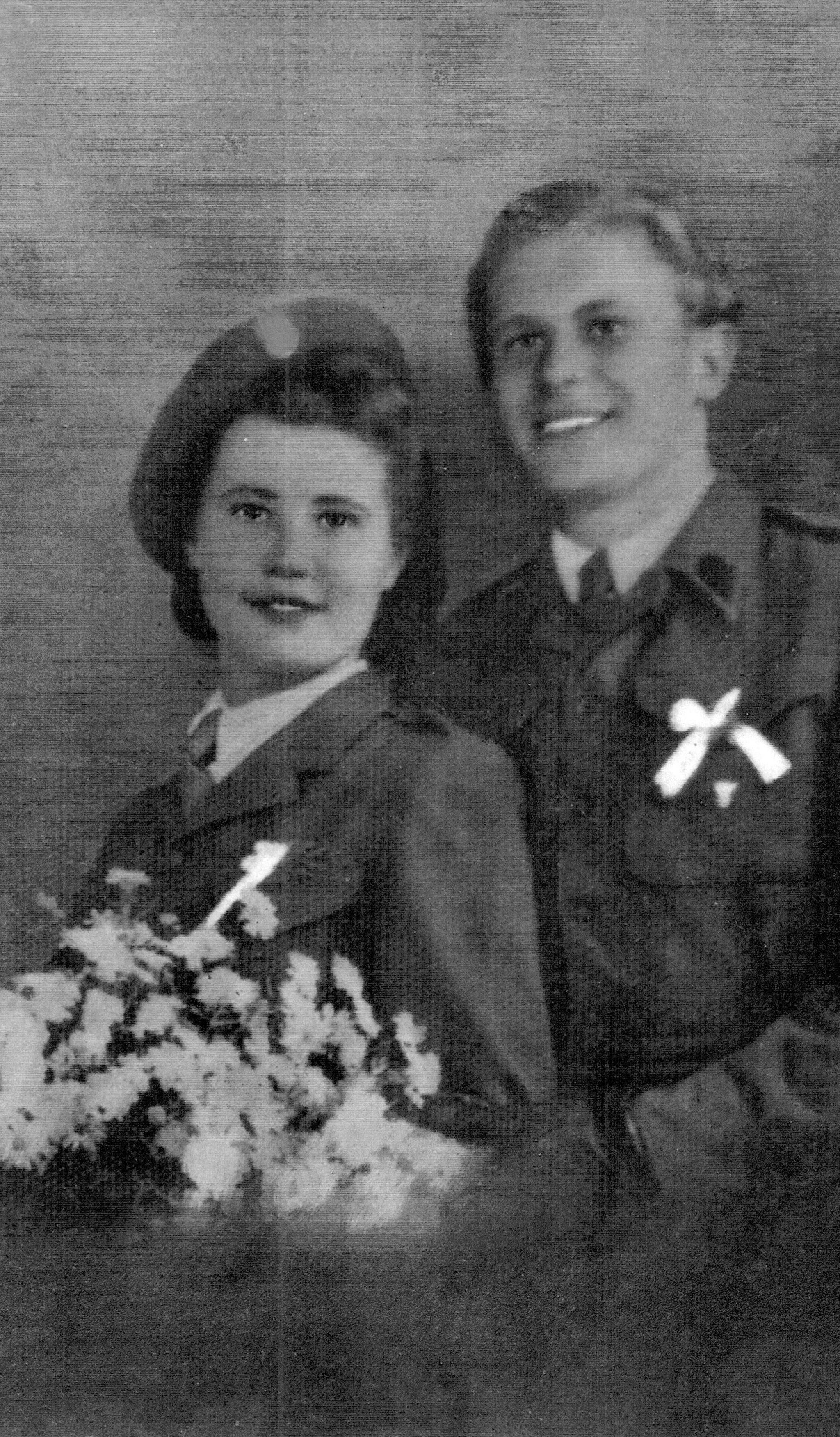 Krystyna married Stanley Slowikowski in 1945