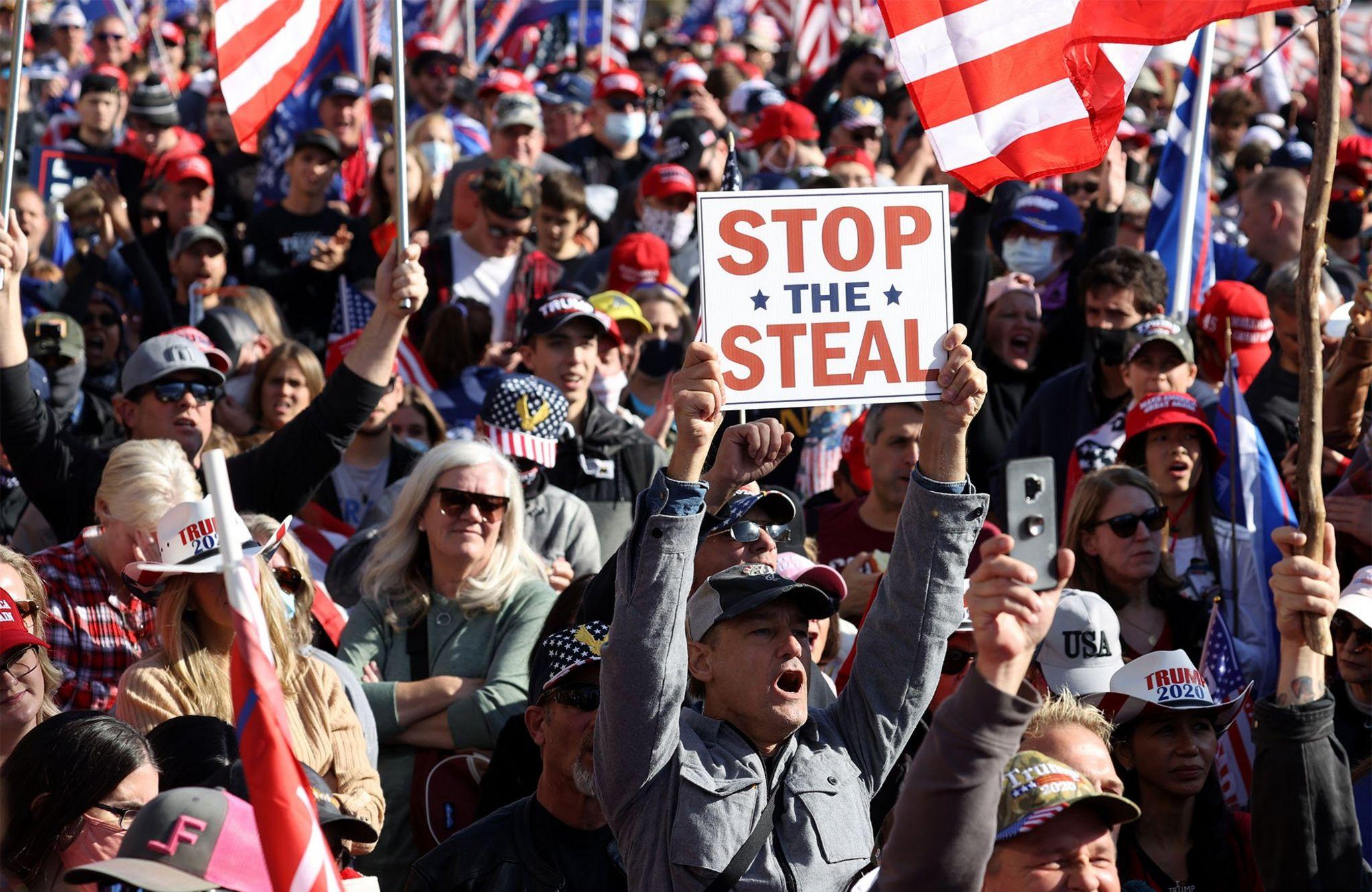Million MAGA March, Washington, 14 November 2020