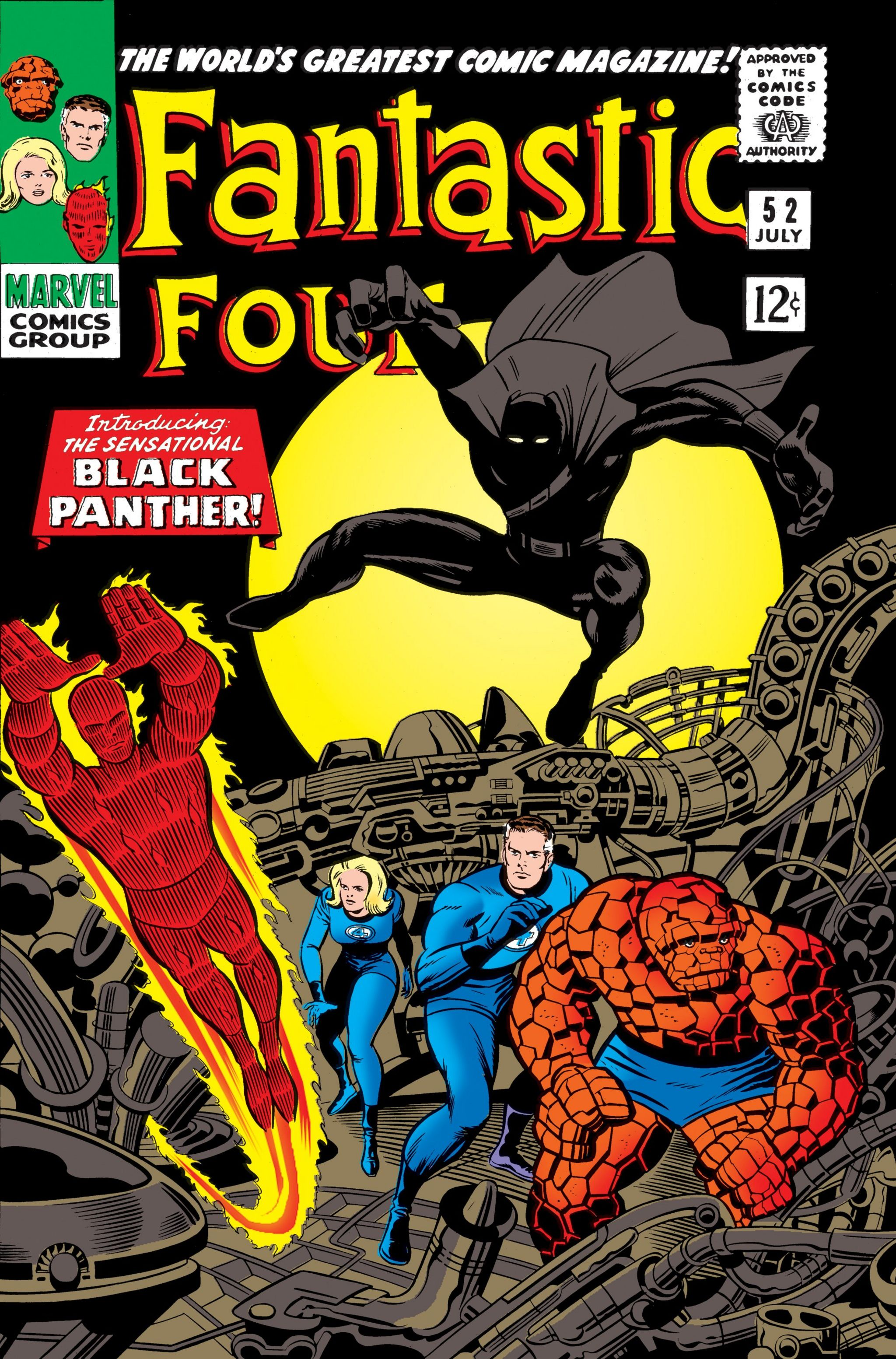Fantastic Four and Black Panther