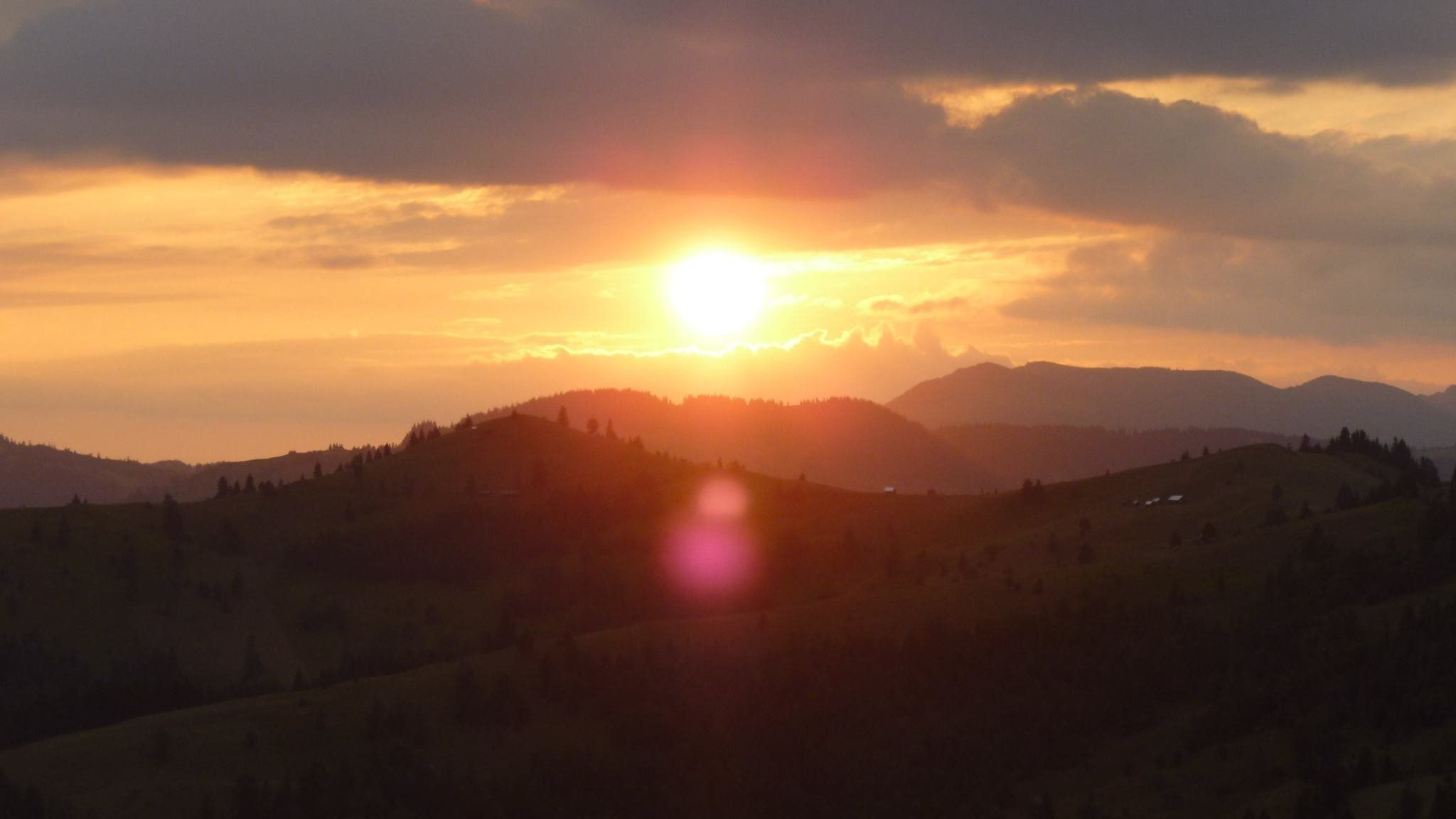 Sunset from Orodik