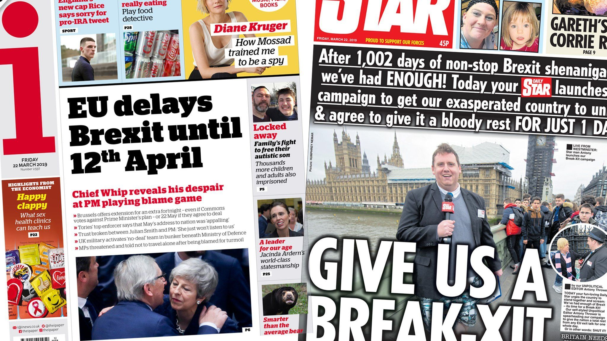 The i and the Daily Star