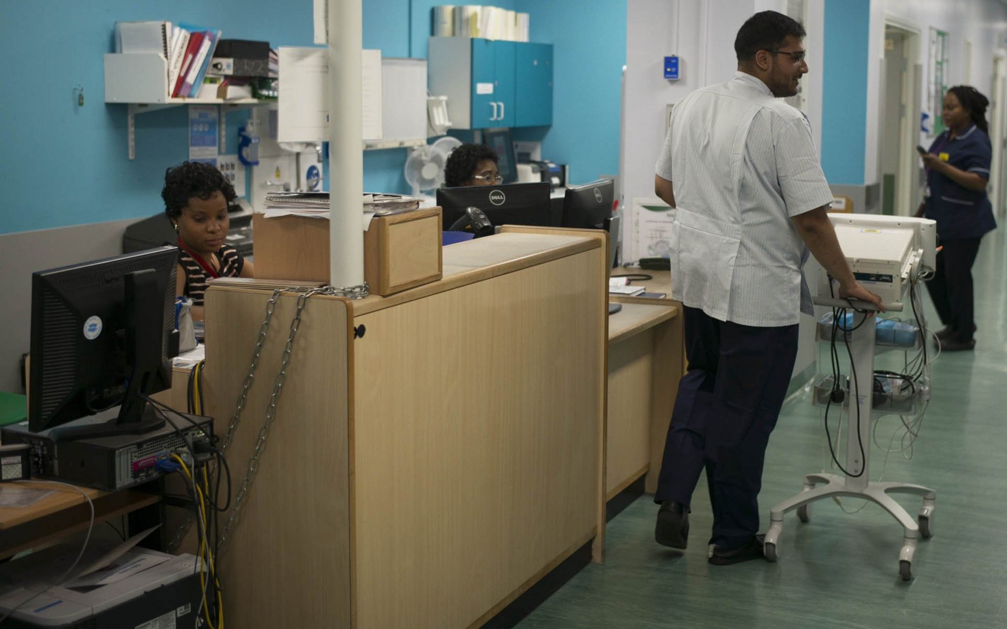 Dilan Chauhan in University Hospital Lewisham