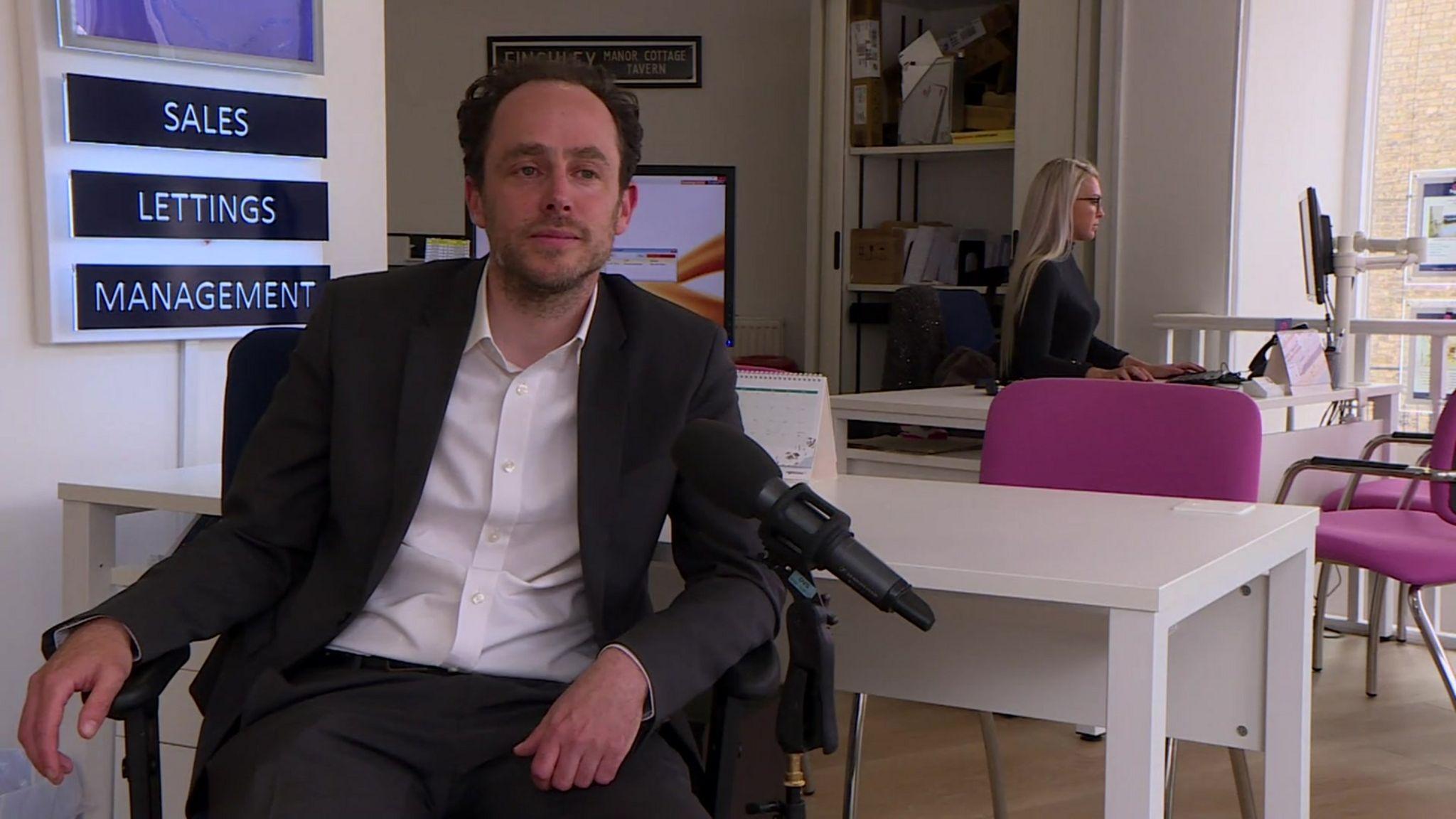 Adam Redhouse, director Squires Estates