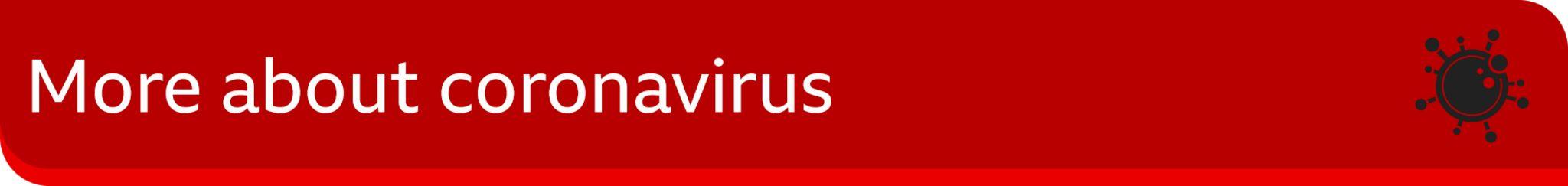 Banner image reading 'more about coronavirus'