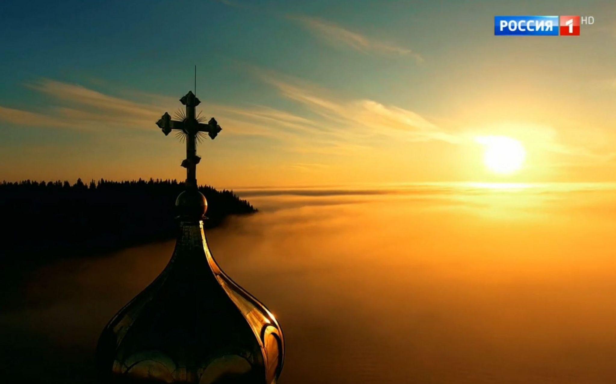 Screengrab from the Rossiya 1 documentary Valaam