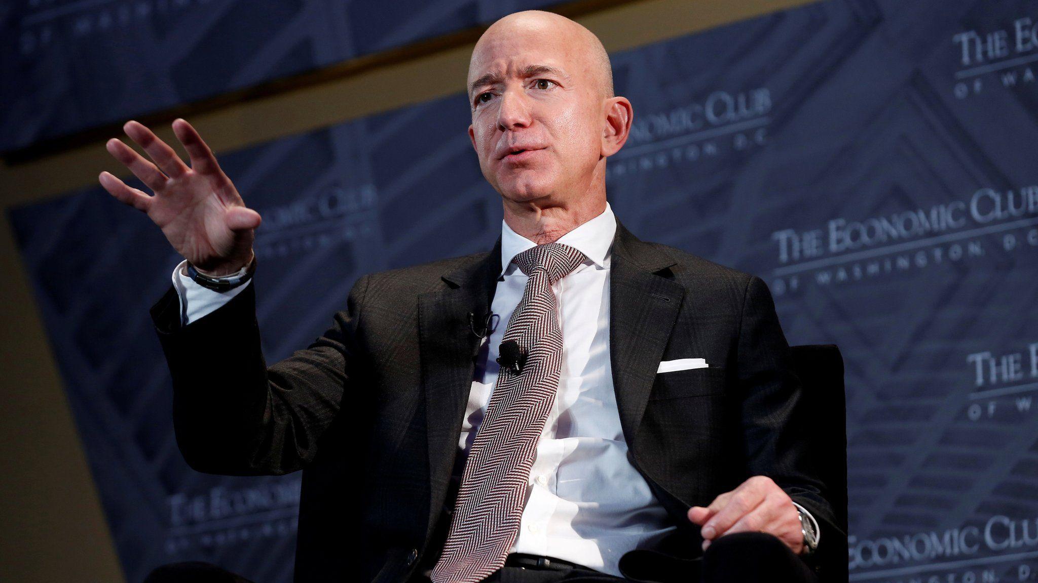 Jeff Bezos to step down as Amazon chief ...
