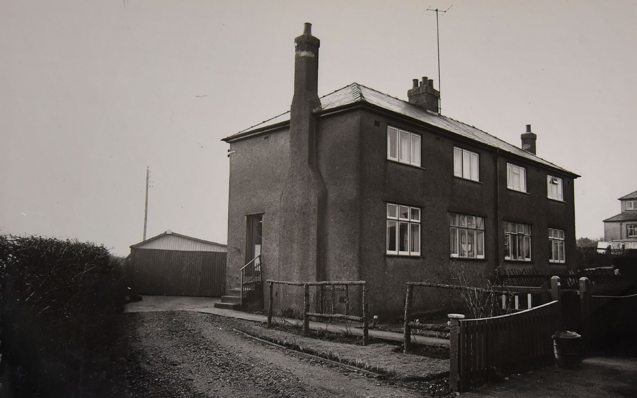 The house where John West was murdered