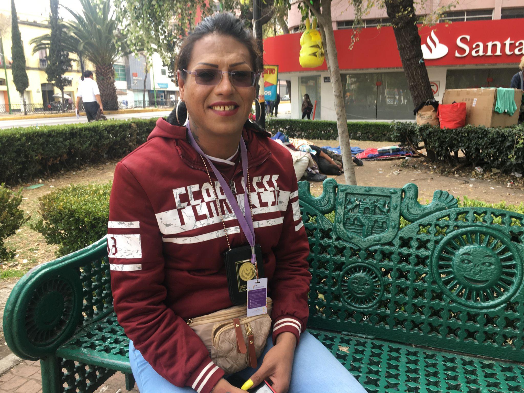 Kenya Cuevas is one of Latin America's best-known transgender activists