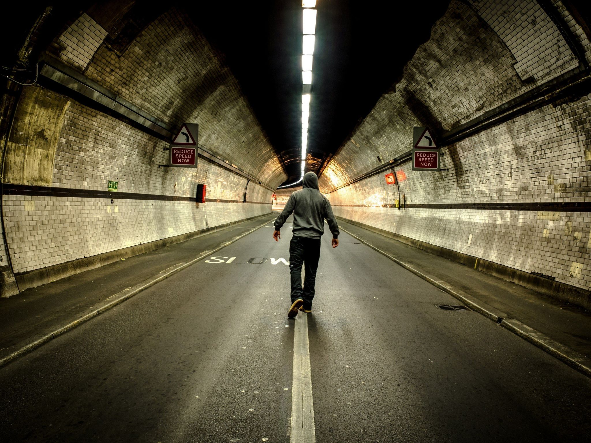 Rotherhithe Tunnel in London