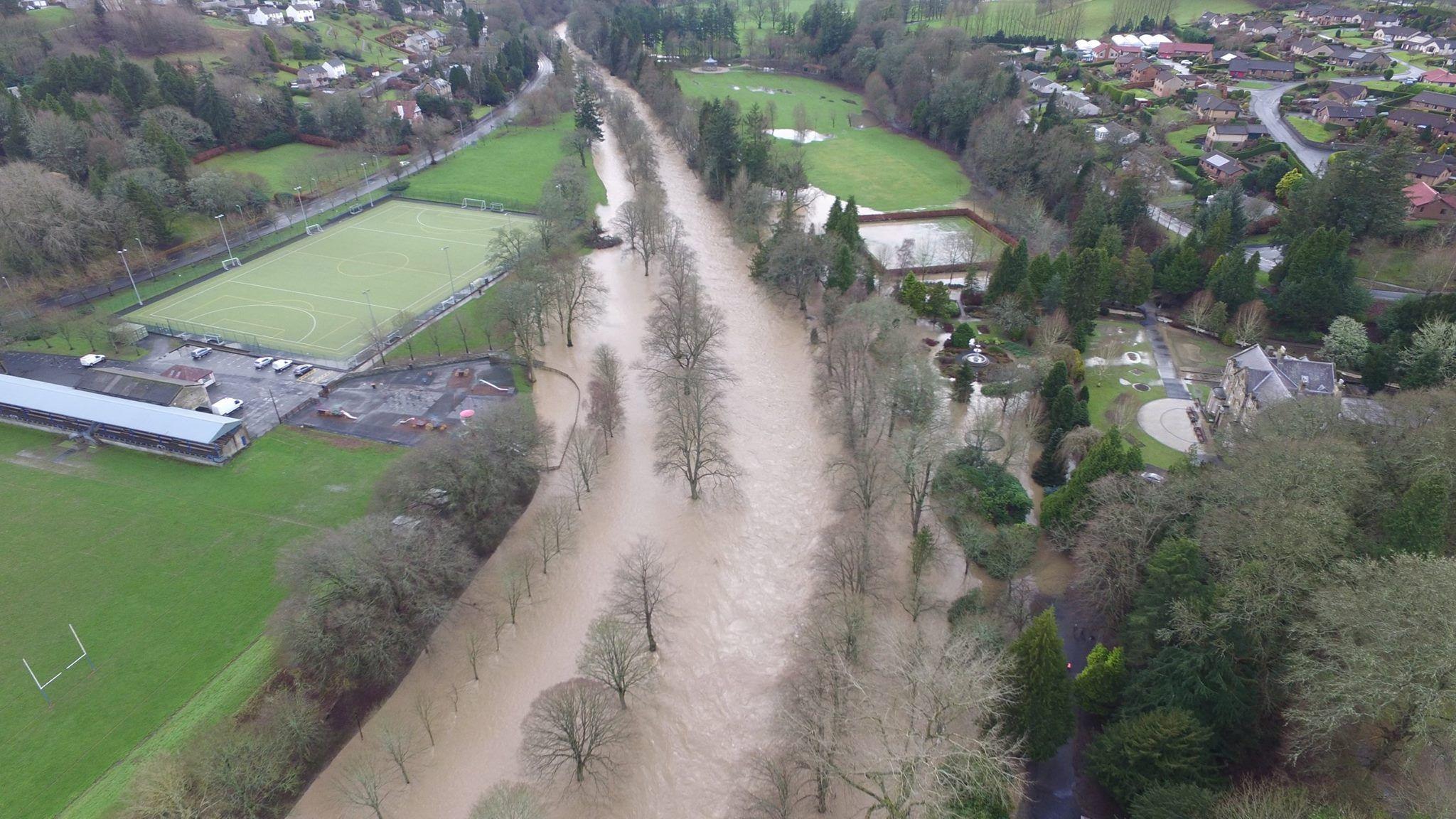 Hawick flooding
