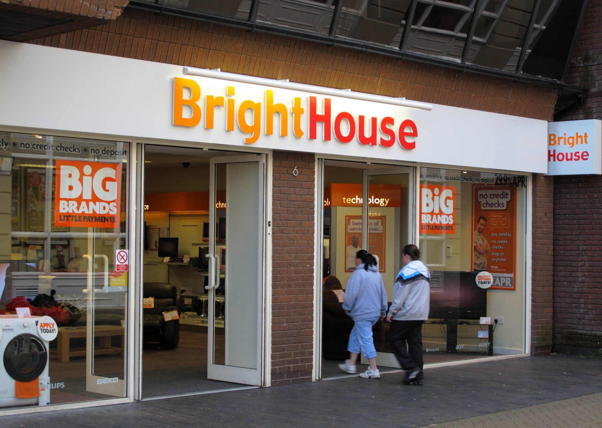 The Queen's private estate had a very small investment in the retailer BrightHouse