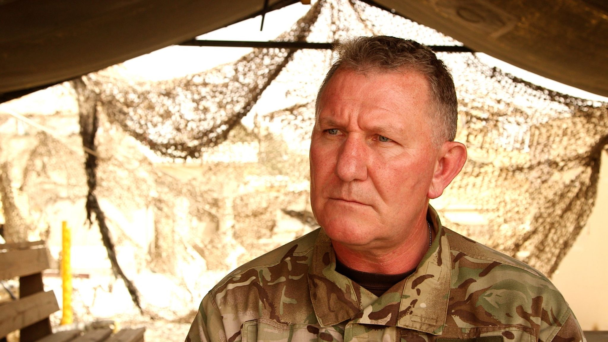 Lieutenant General Richard Cripwell, the most senior British military officer in Afghanistan