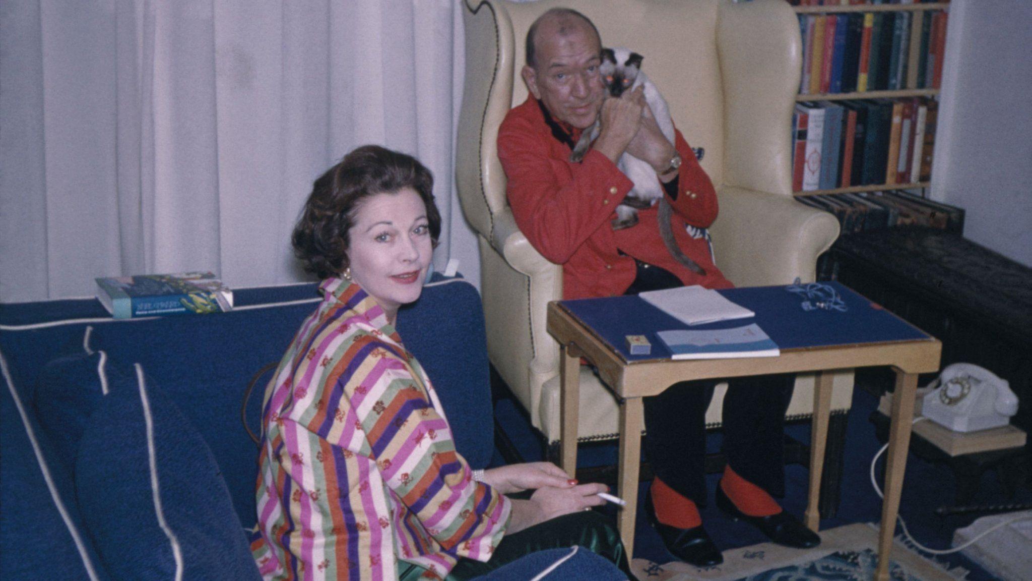 Vivien Leigh with Noel Coward
