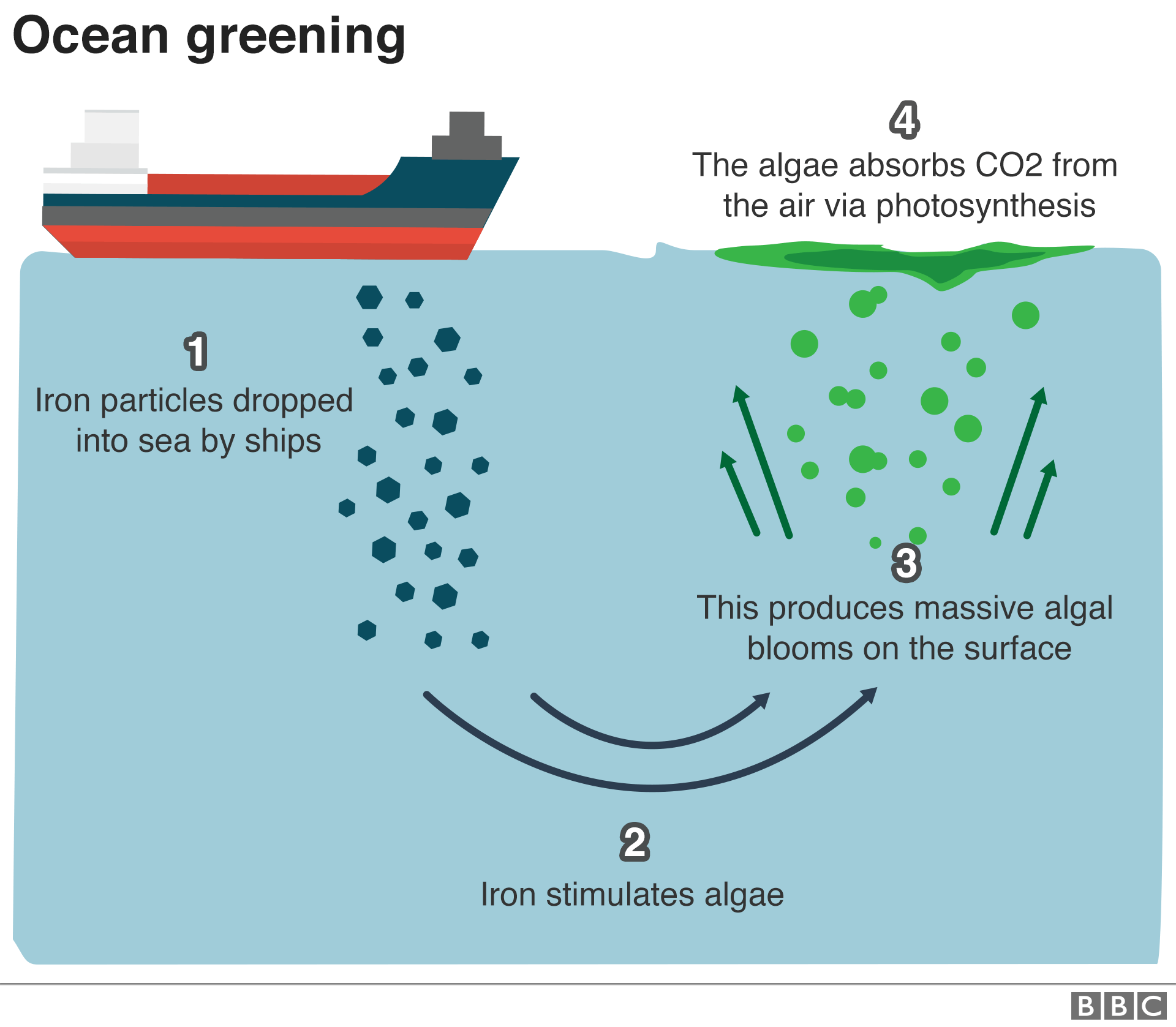 Graphic: How 'ocean greening' could work