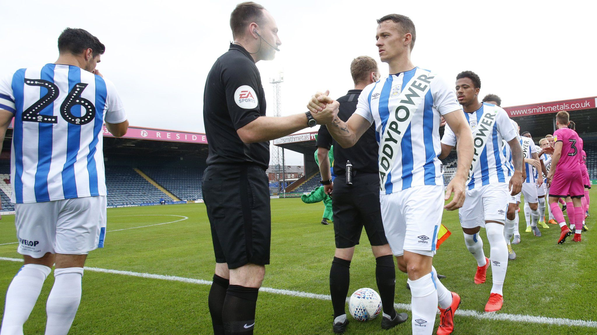 Huddersfield Town: FA charges club with breaching kit rules after
