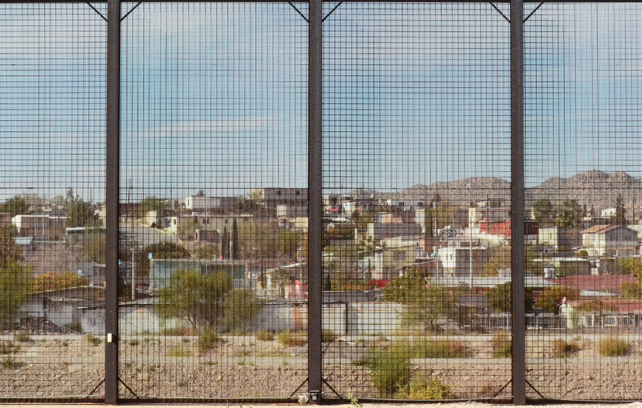 Fence at the US-Mexico border