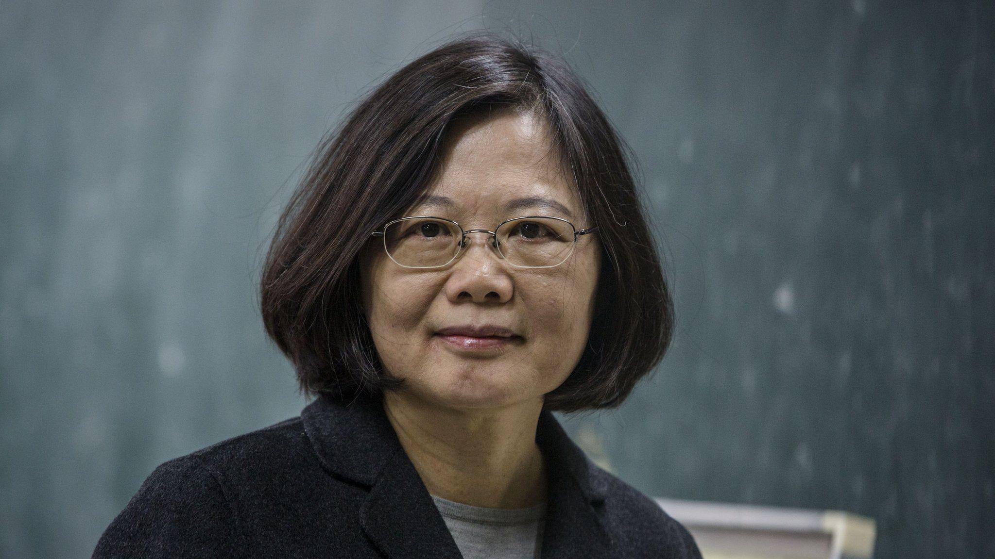 Photo of Democratic Progressive Party president Tsai Ing-wen