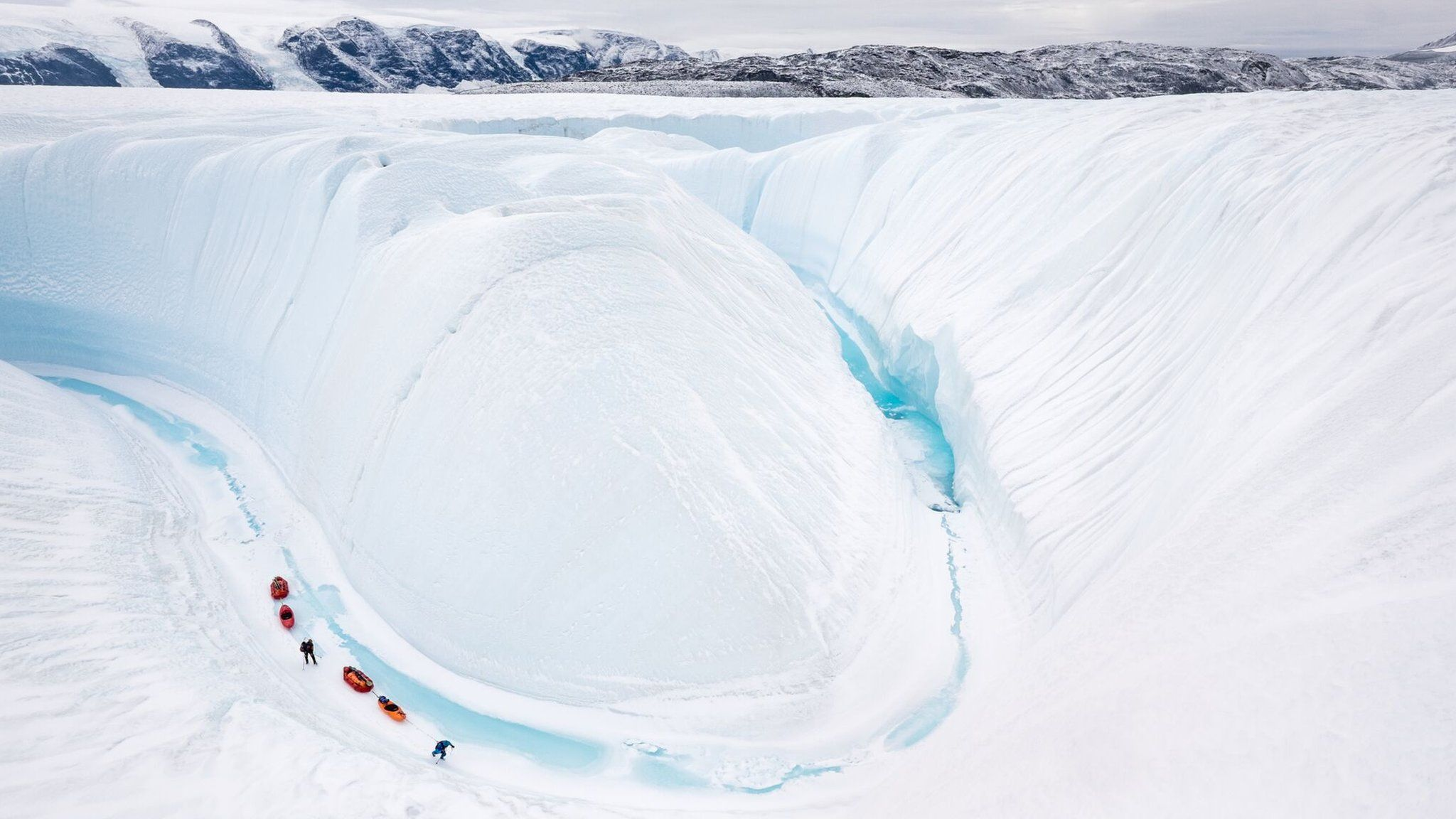 Into Twin Galaxies - A Greenland Epic