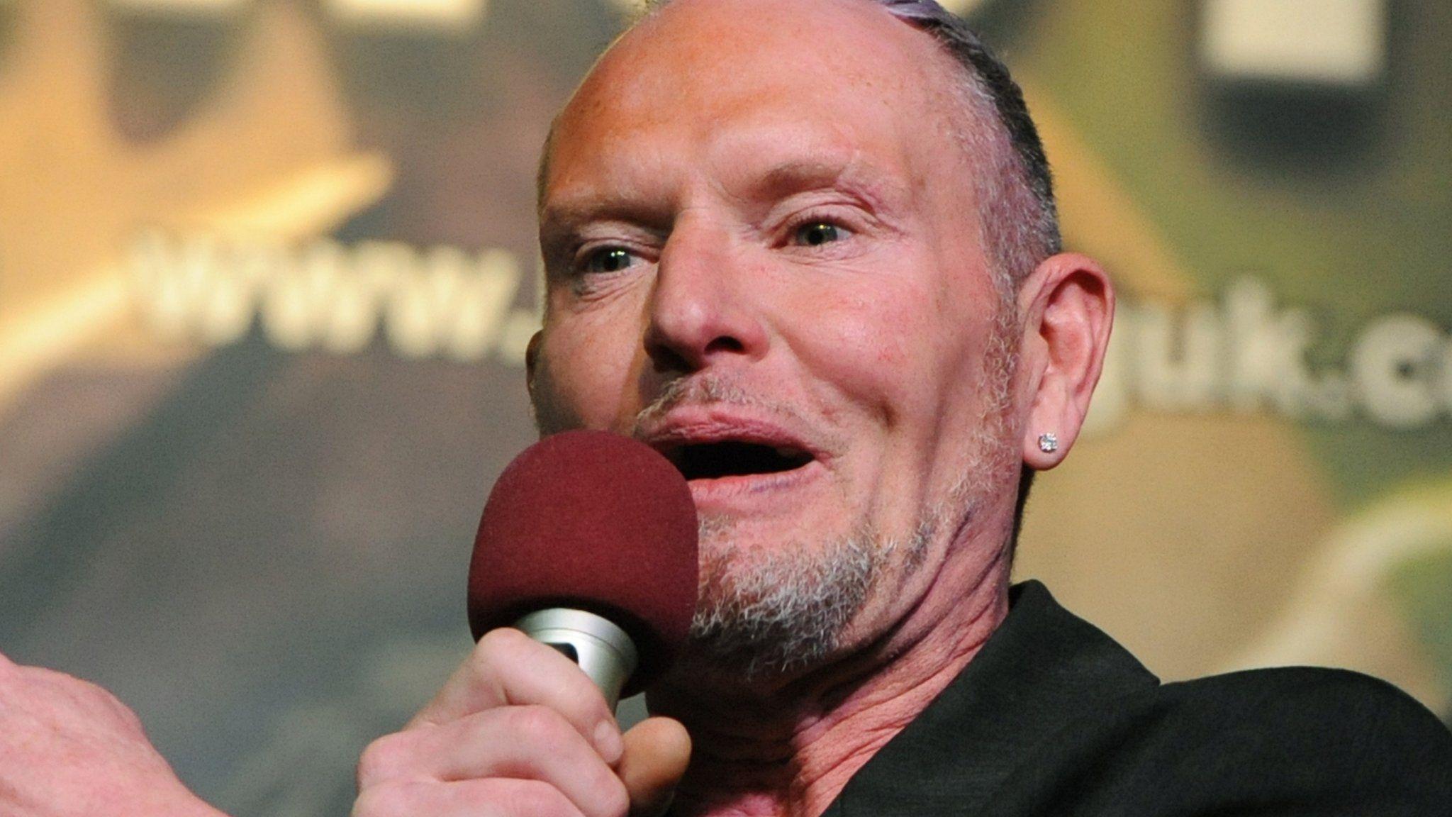 Paul Gascoigne at the Wolverhampton Civic Hall show