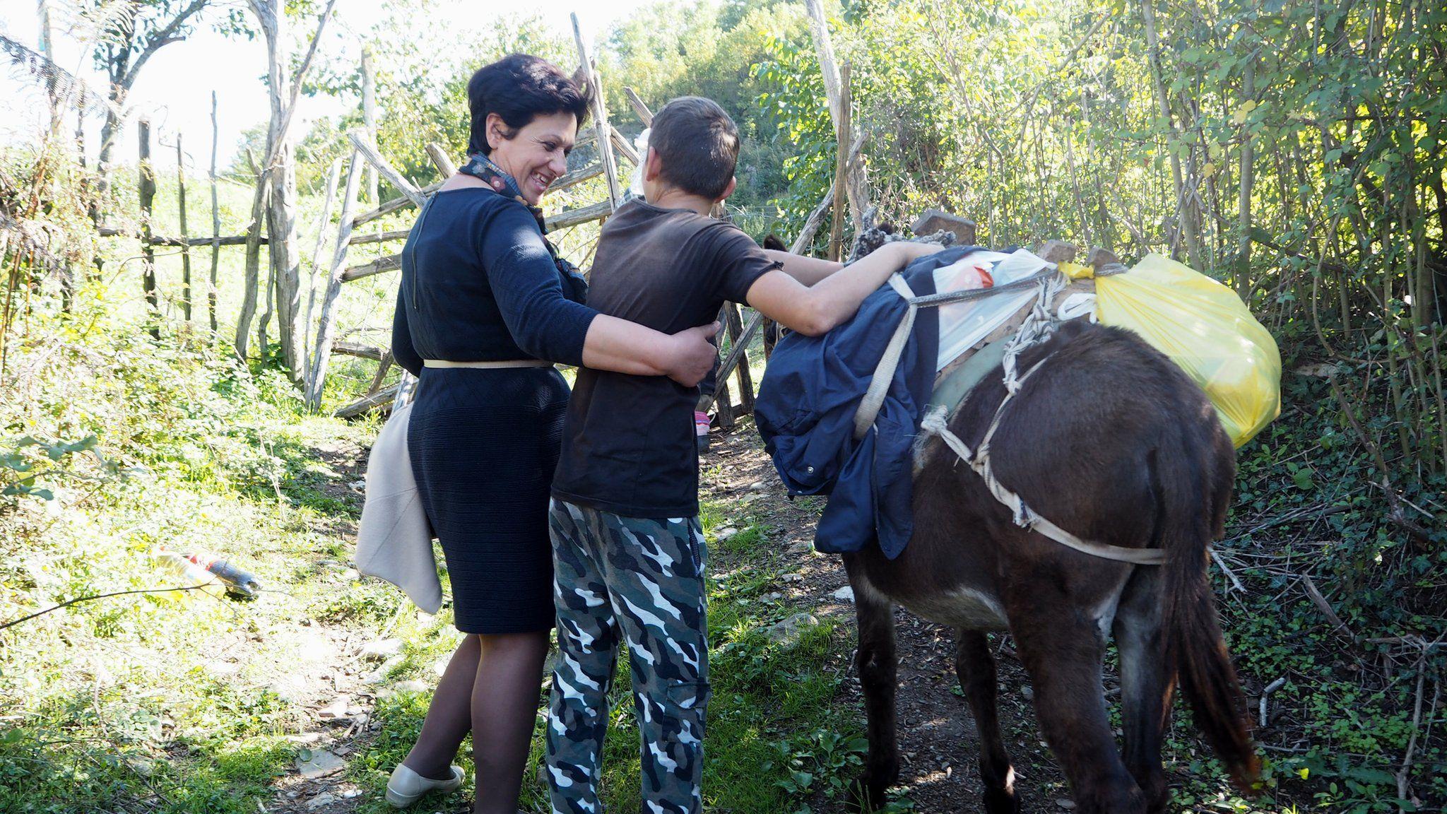 Liljana Luani with Niko