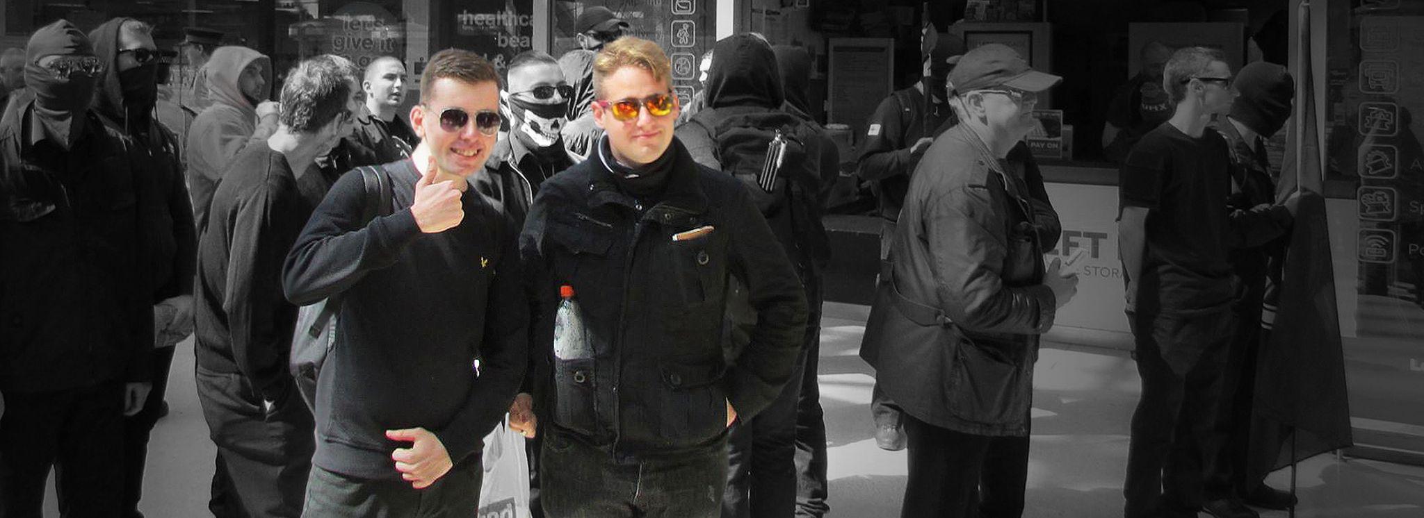 Alex Davies (l) and Ben Raymond