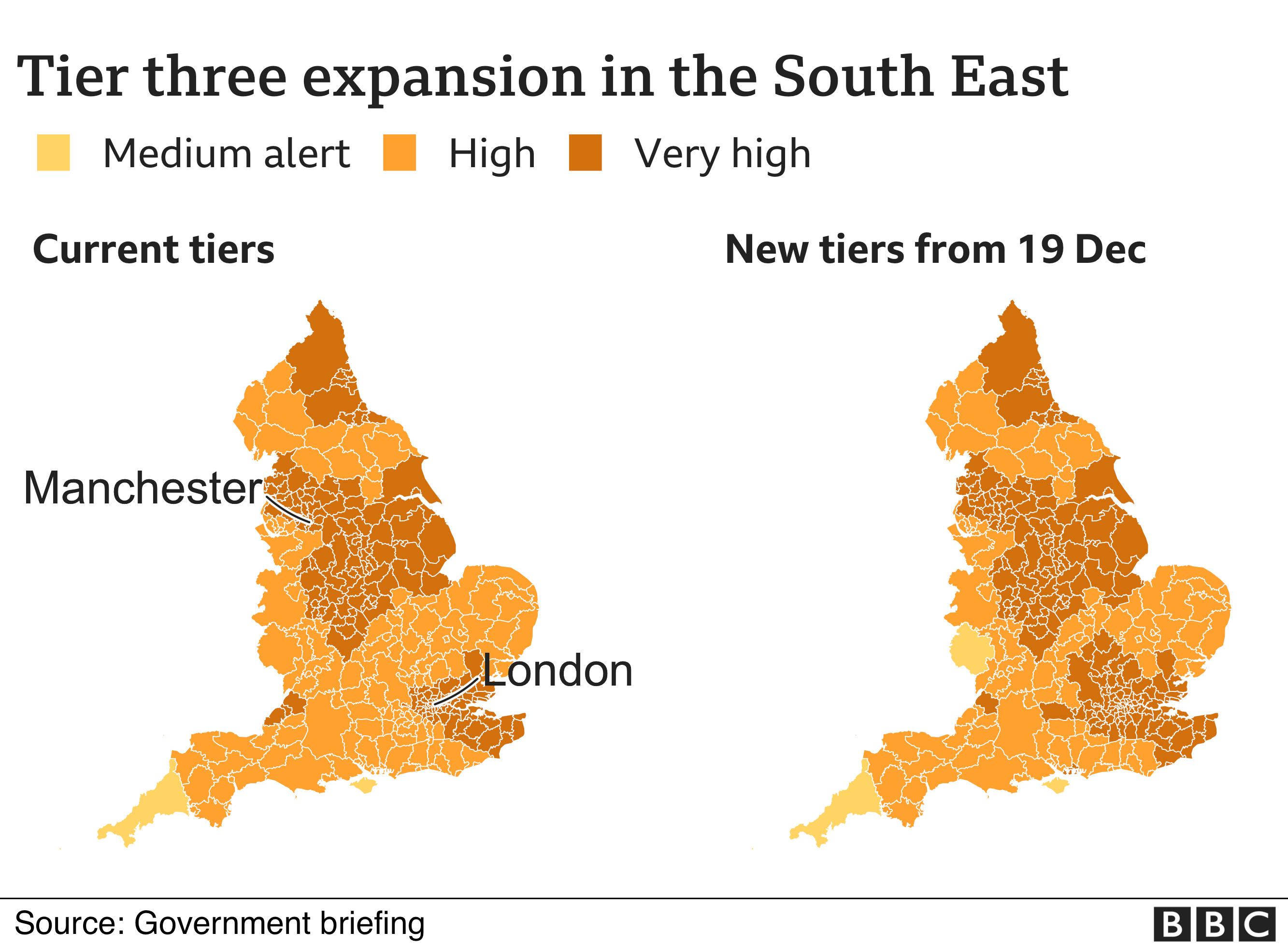 Tier three expansion in the South East