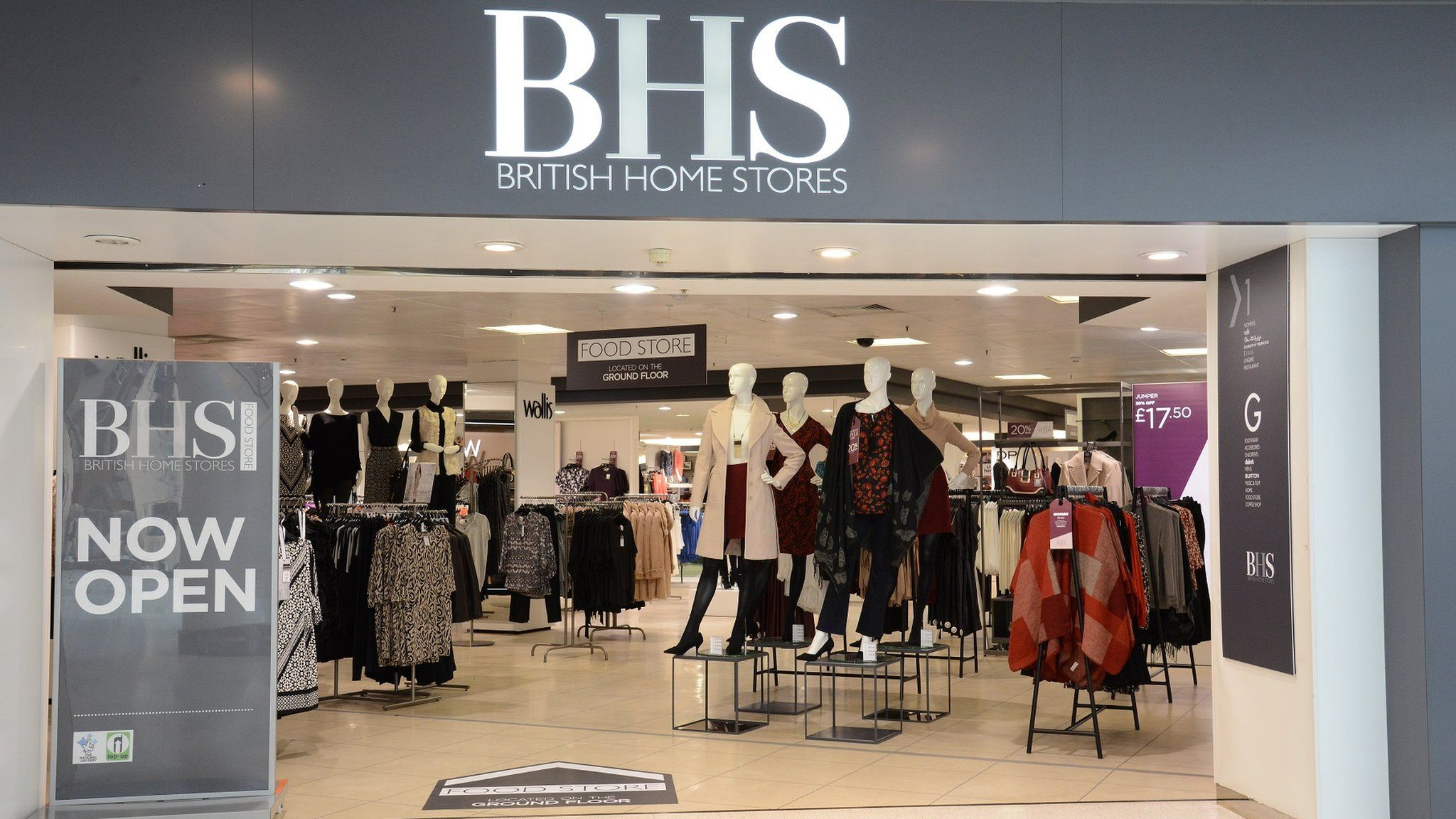 bhs threatens to close 40 stores bbc news bhs corrugated bhs #2