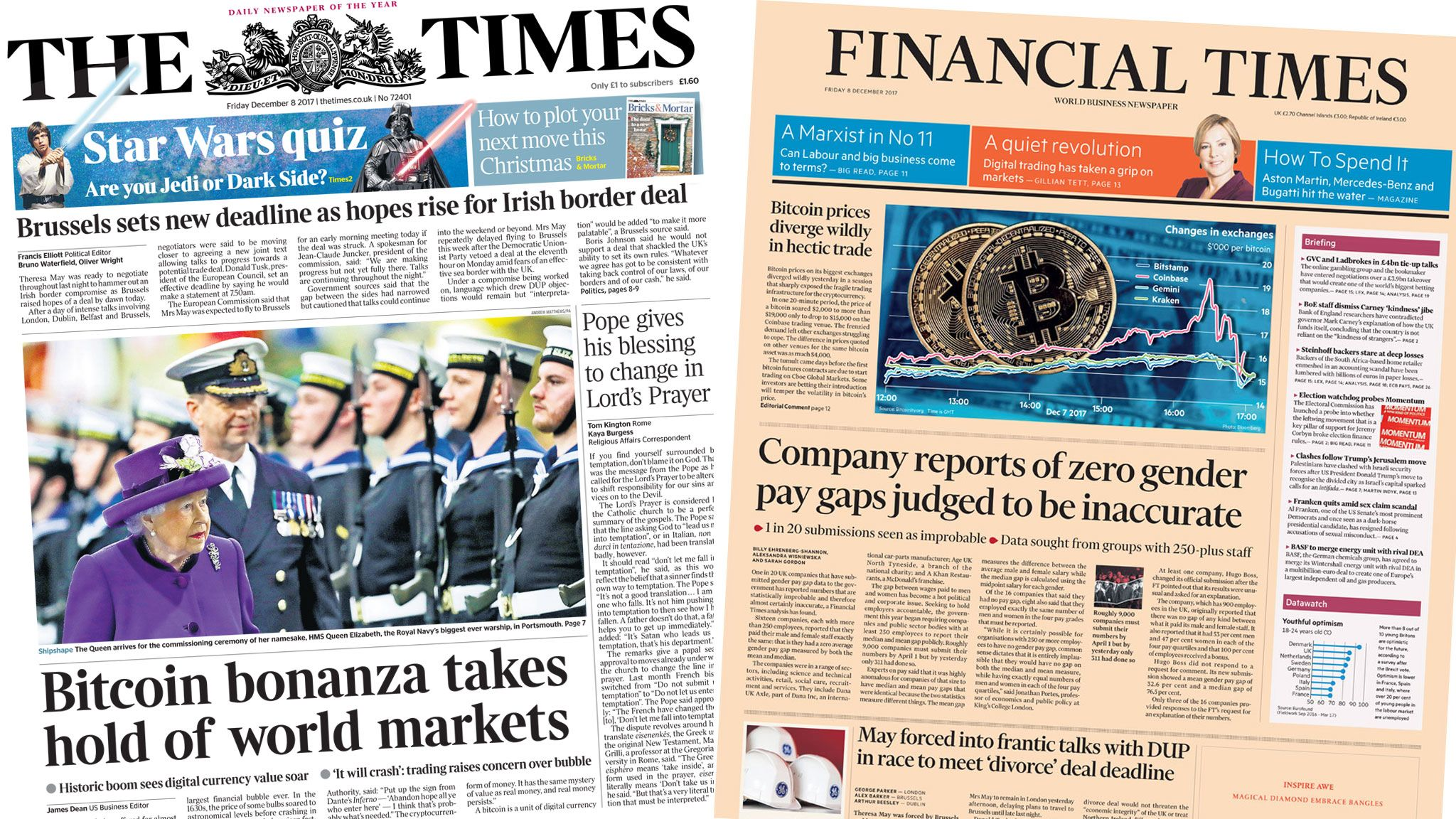 The Times and the Financial Times