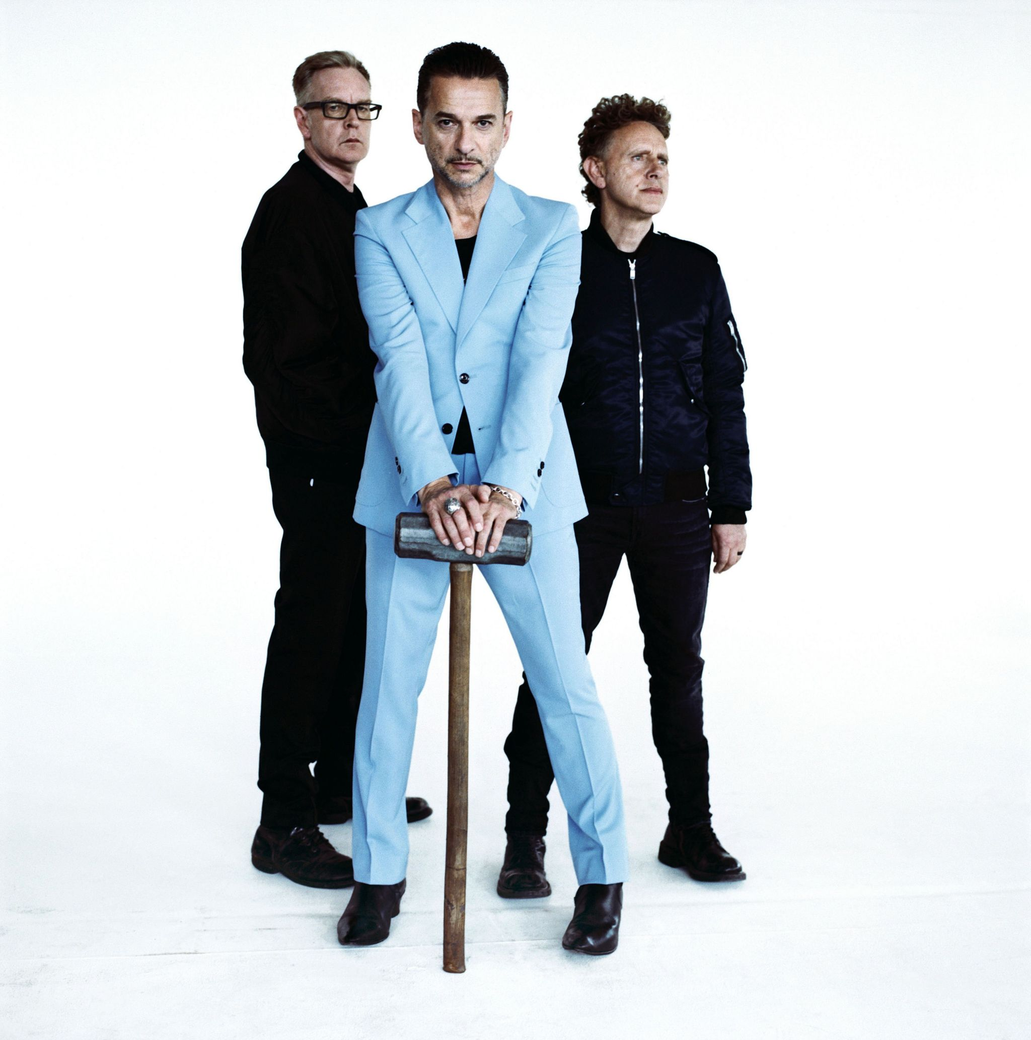 Handout photo of Depeche Mode, who will headline the BBC 6 Music Festival in Glasgow. PRESS ASSOCIATION Photo. Issue date: Tuesday 21 February 2017