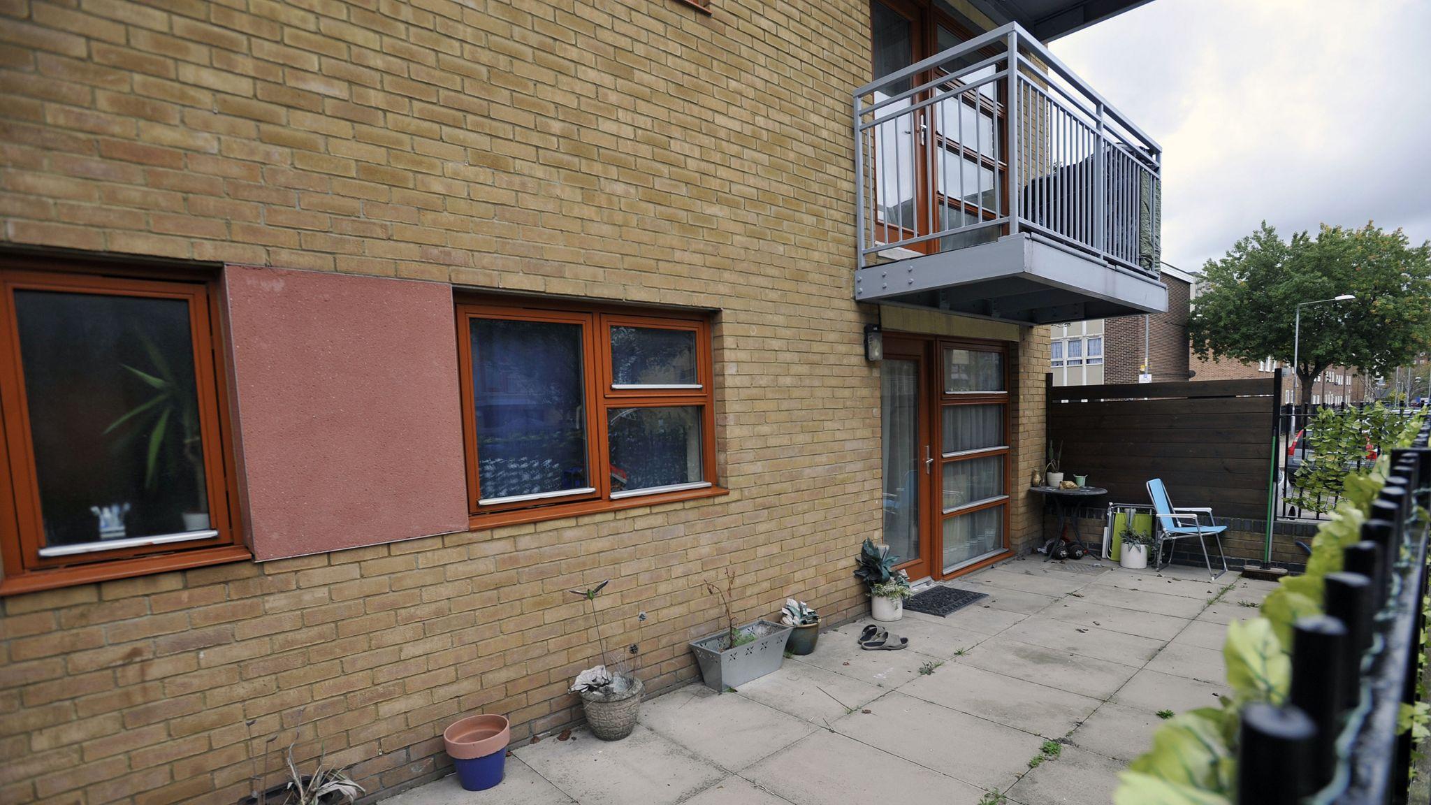 Stephen Port's flat in Barking