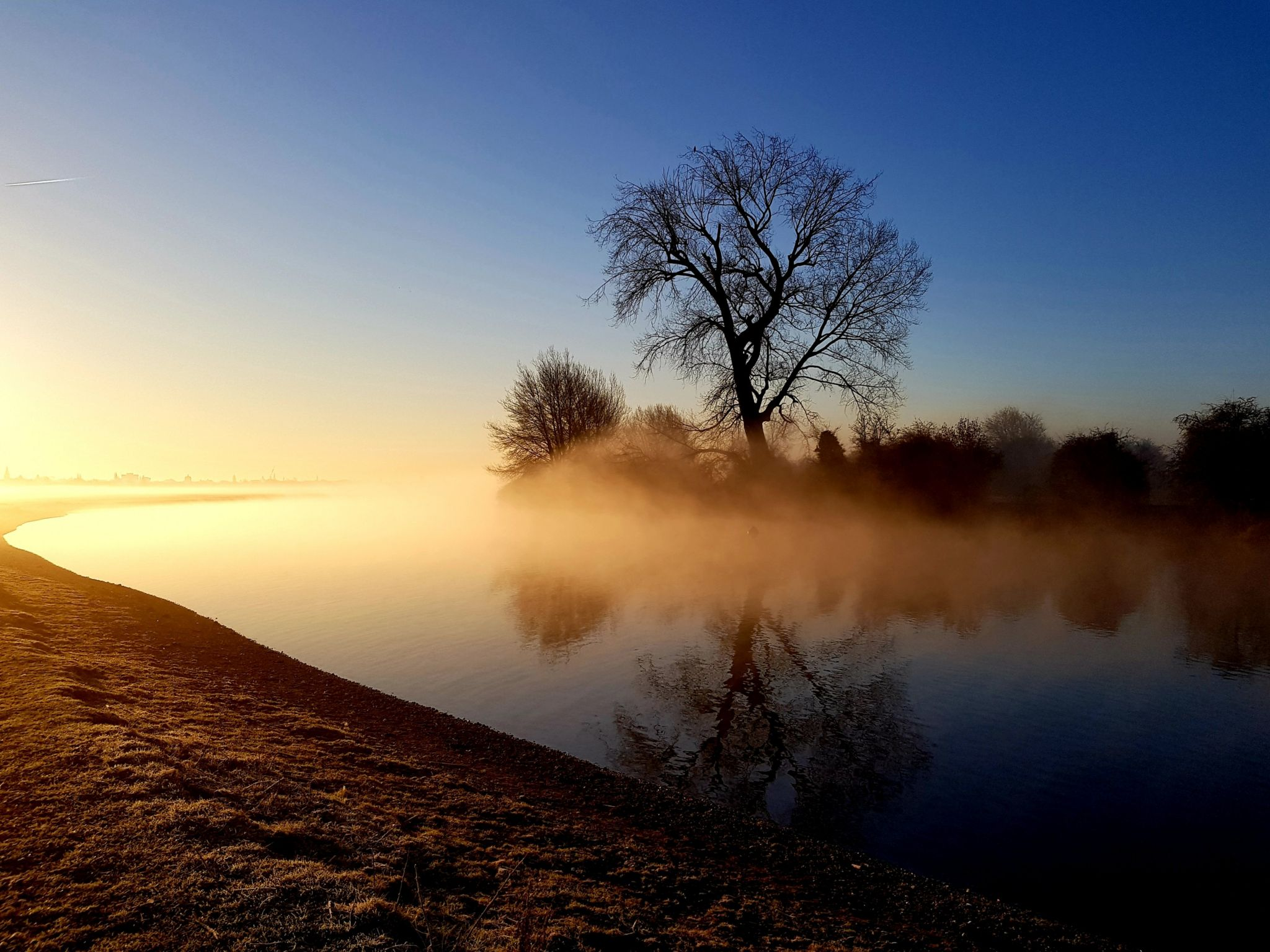 Port Meadow at sunrise