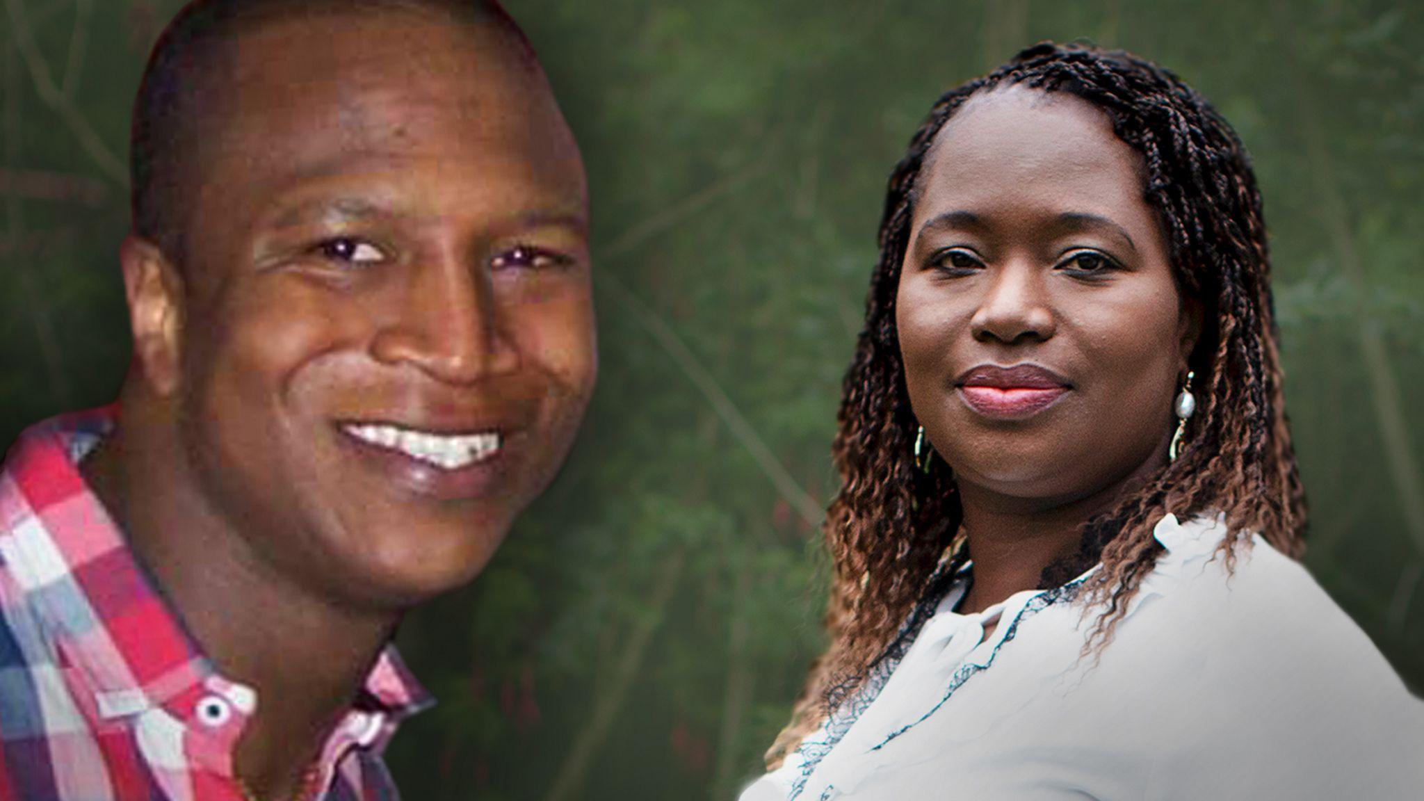 Sheku Bayoh and his sister Kadi Johnson