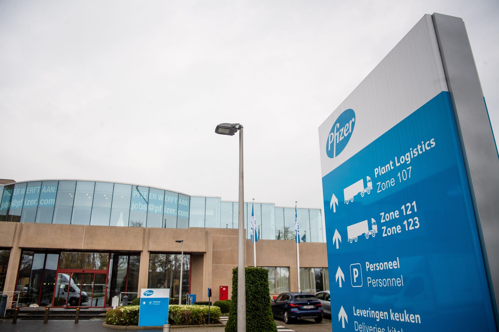 The Pfizer BioNTech vaccine is being manufactured in Belgium