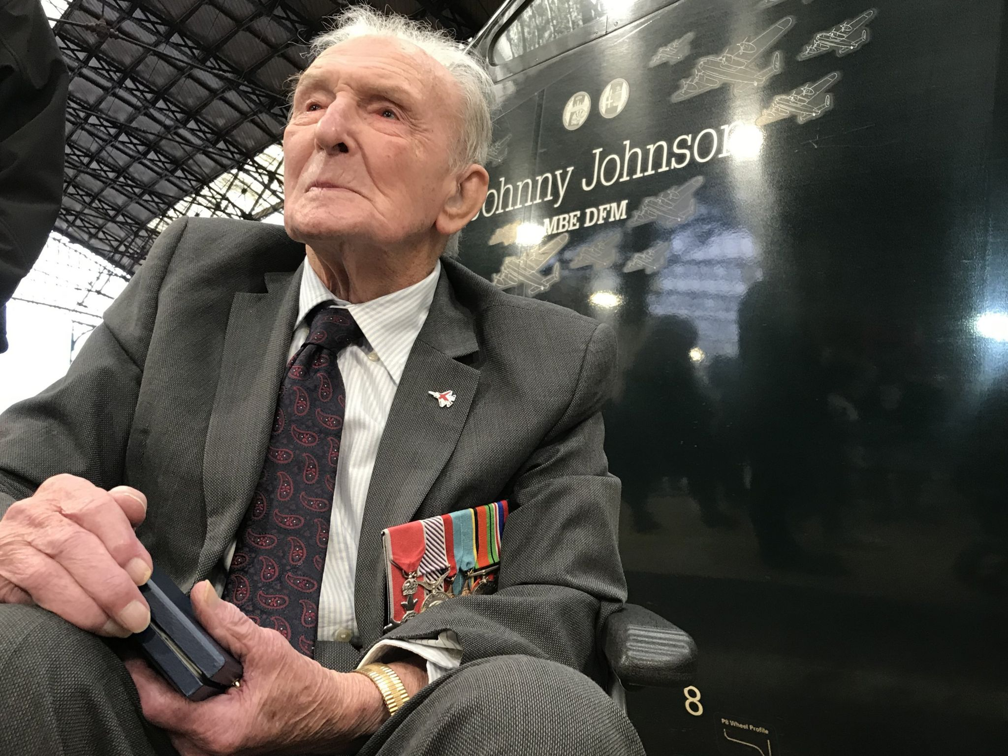 George 'Johnny' Johnson MBE