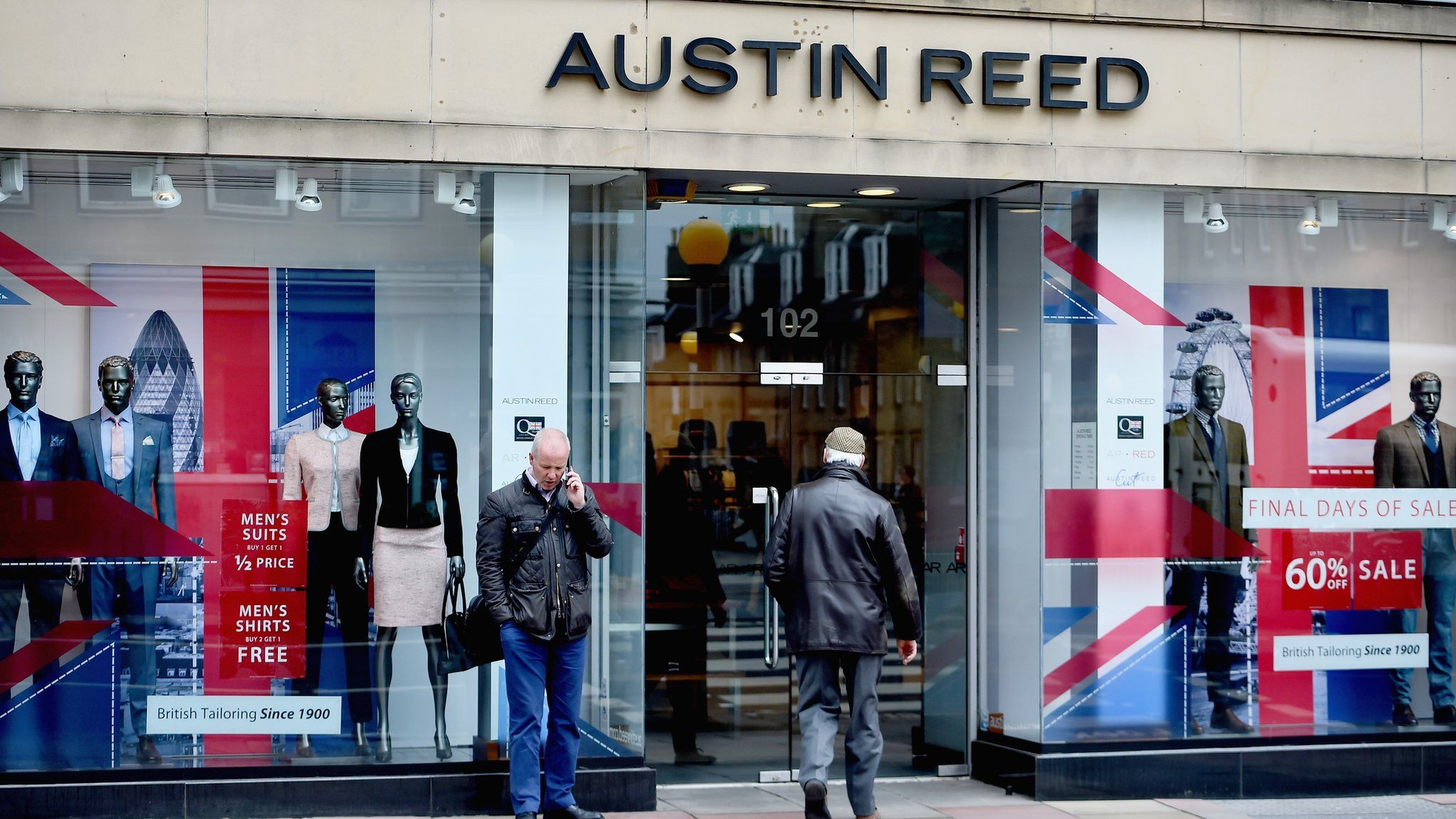 Austin Reed Brand Set For High Street Return Bbc News