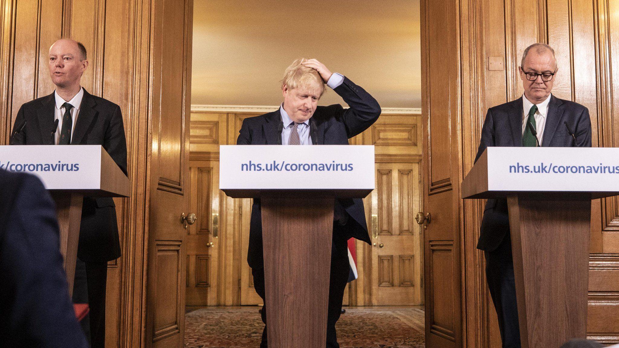 Coronavirus: UK changes course amid death toll fears - BBC News