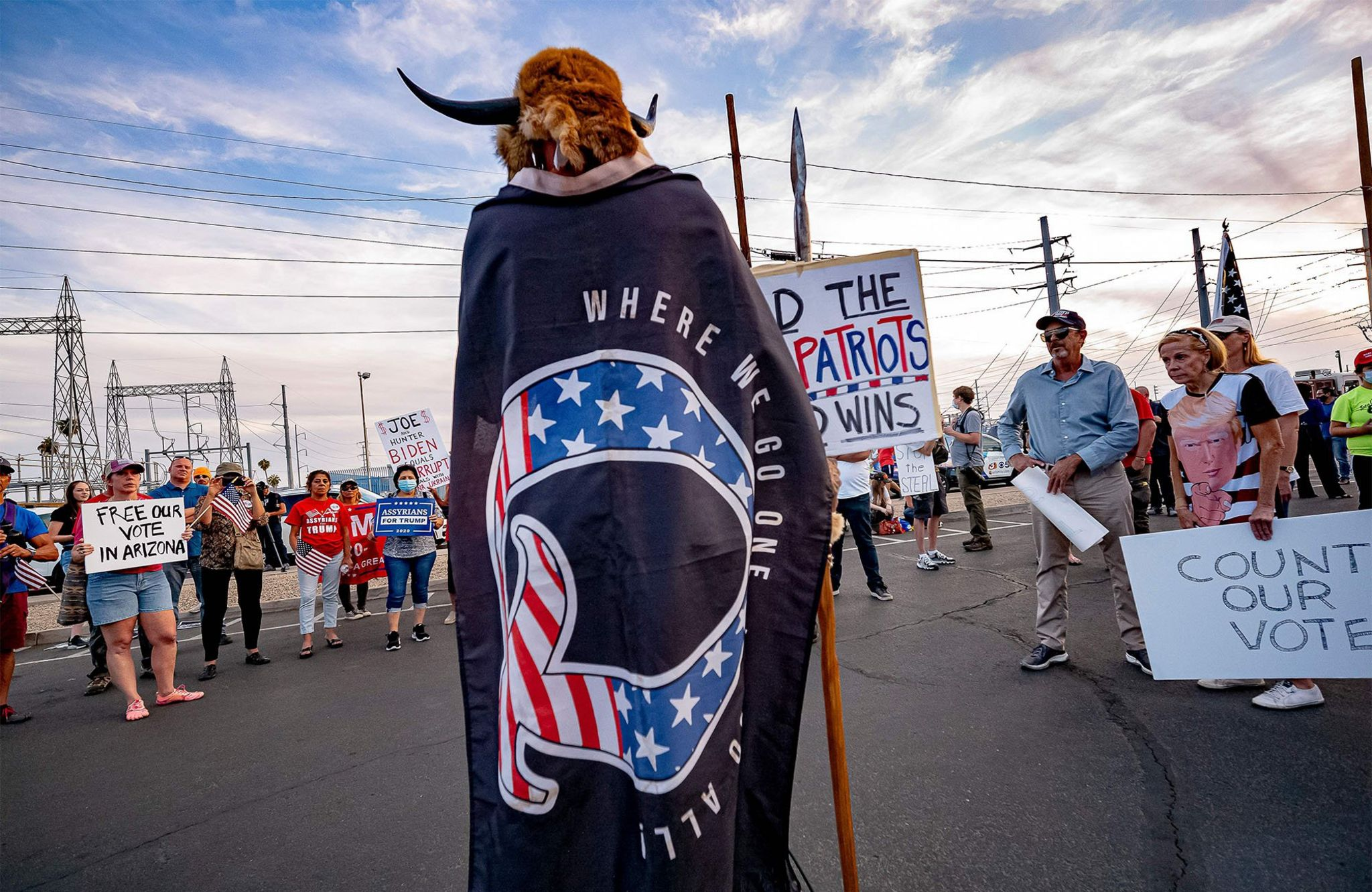 Protest Arizona, 5 November 2020